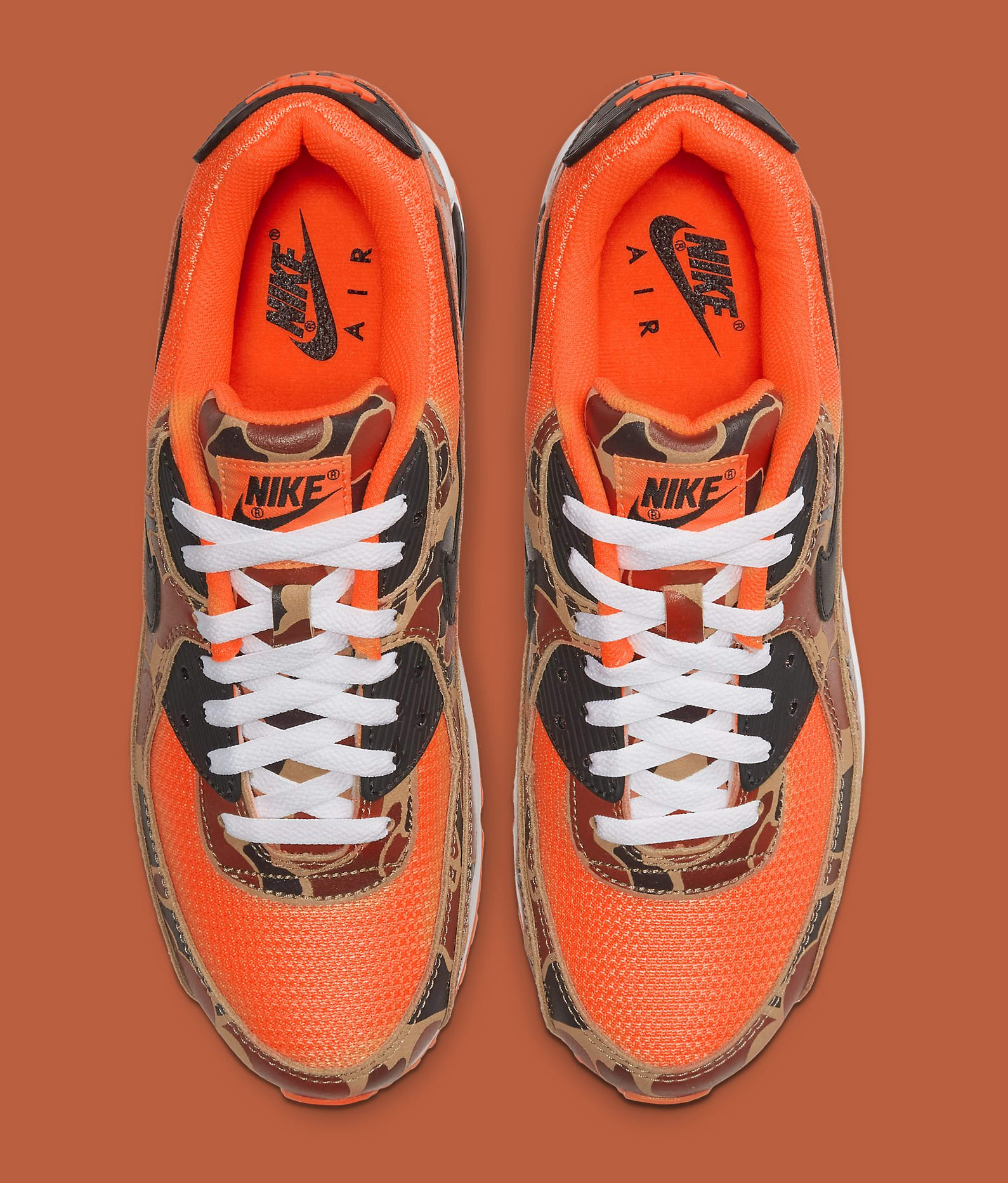 Nike Air Max 90 'Orange Camo' CW4039-800 Top