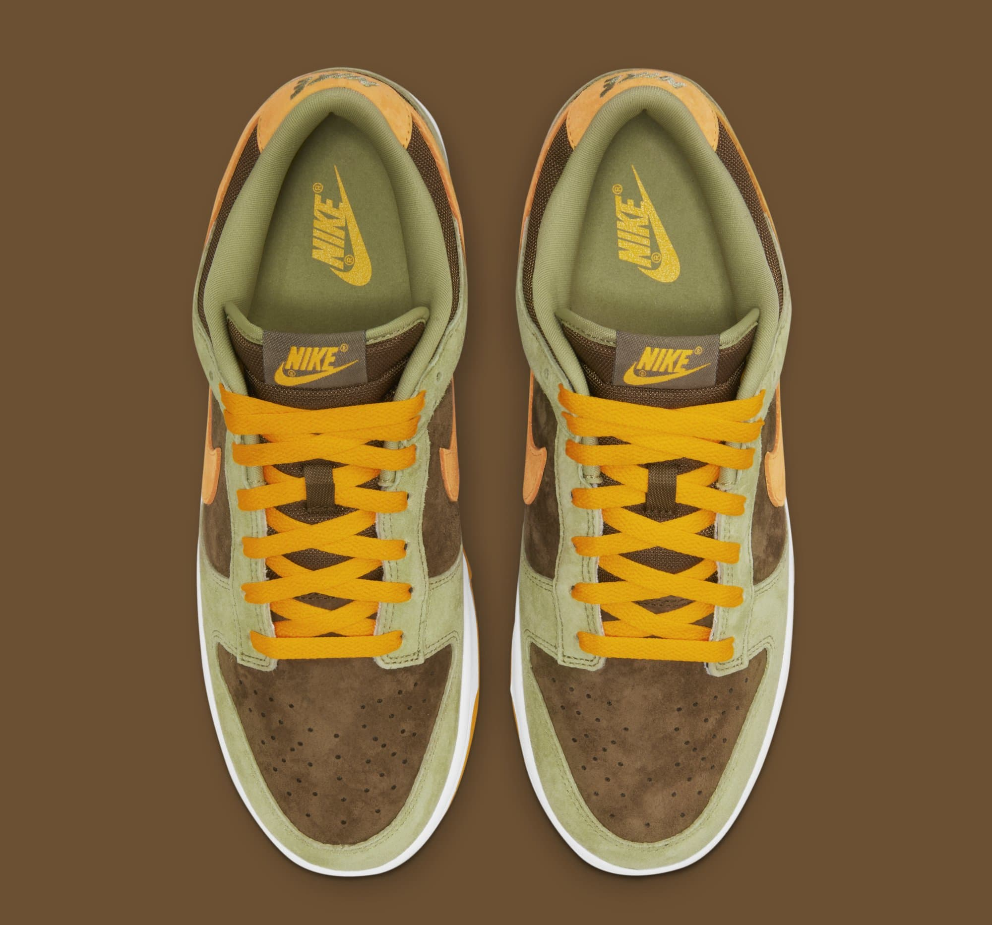 Nike Dunk Low 'Dusty Olive' DH5360-300 (Top)