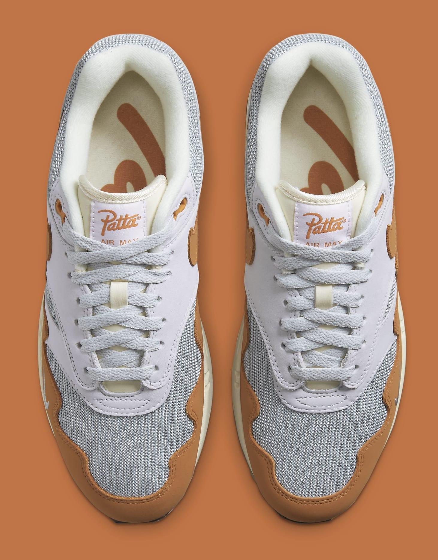 Patta x Nike Air Max 1 'Monarch' DH1348-001 Top