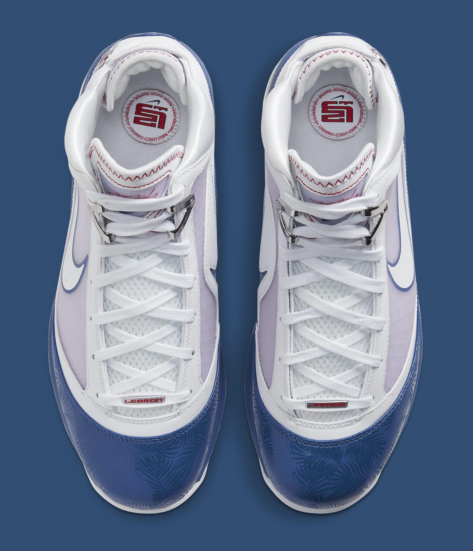 Nike LeBron 7 'Dodgers' DJ5158-100 Top
