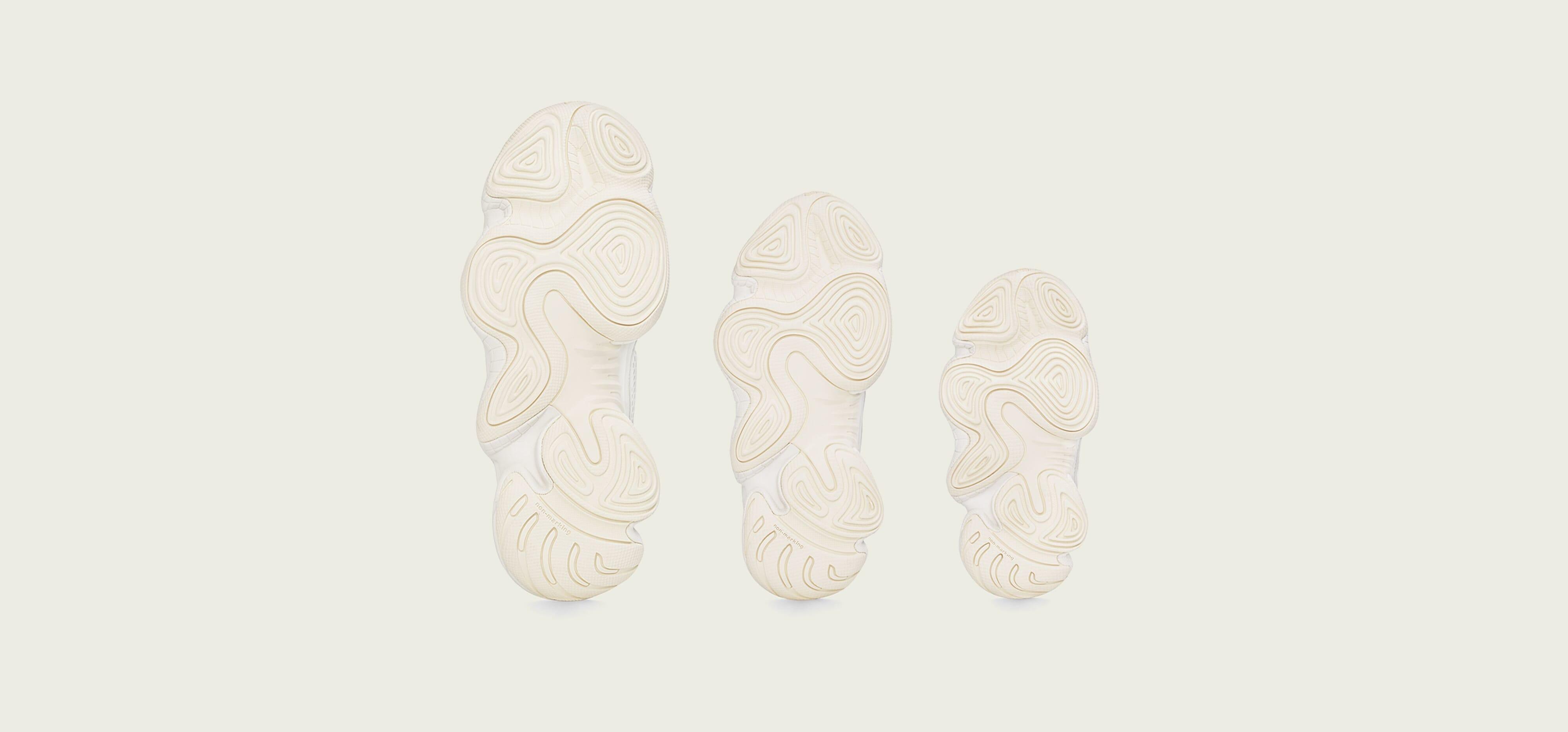 Adidas Yeezy 500 'Bone White' (Bottom)