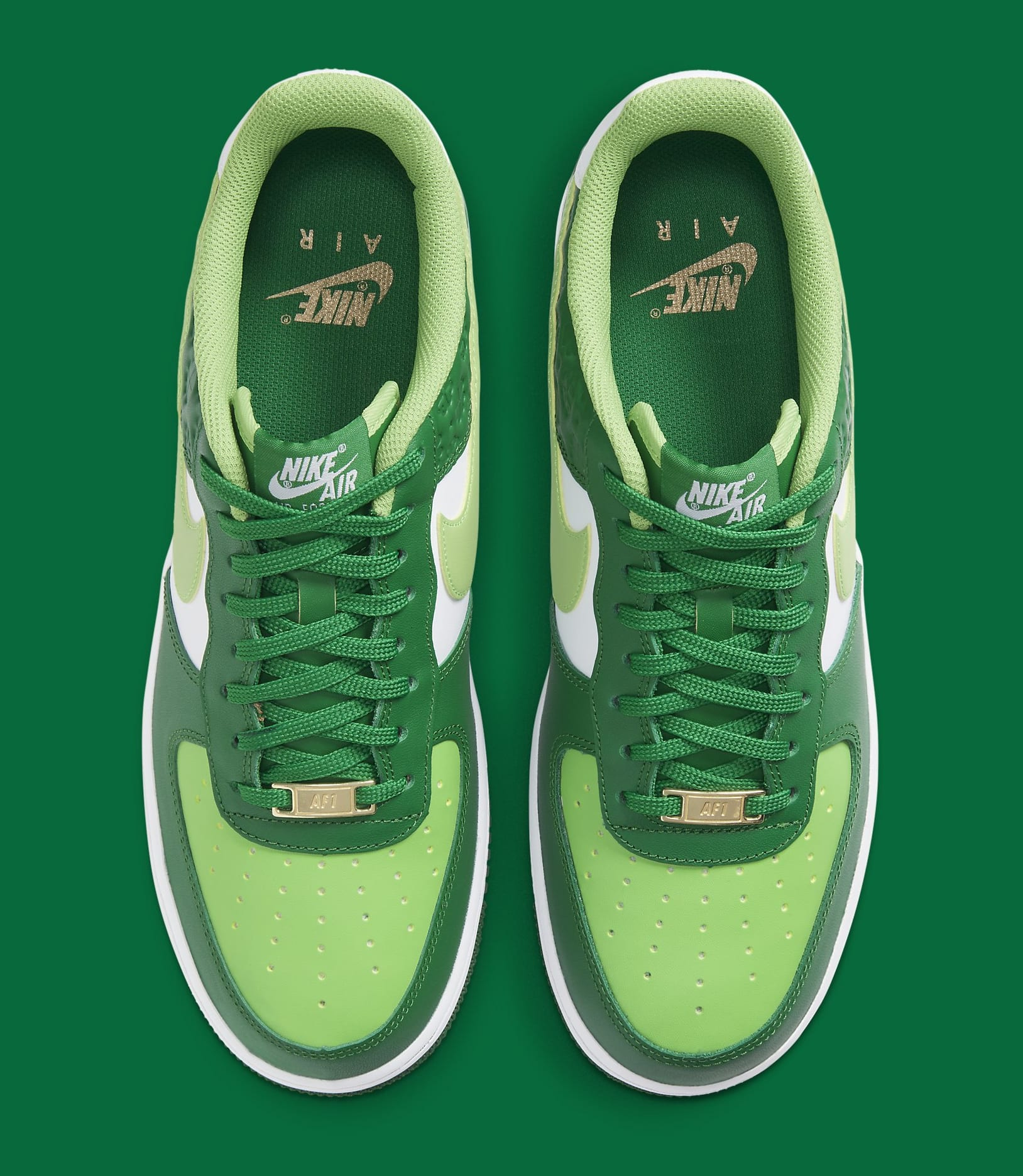 Nike Air Force 1 Low 'St. Patrick's Day' DD8458-300 Top