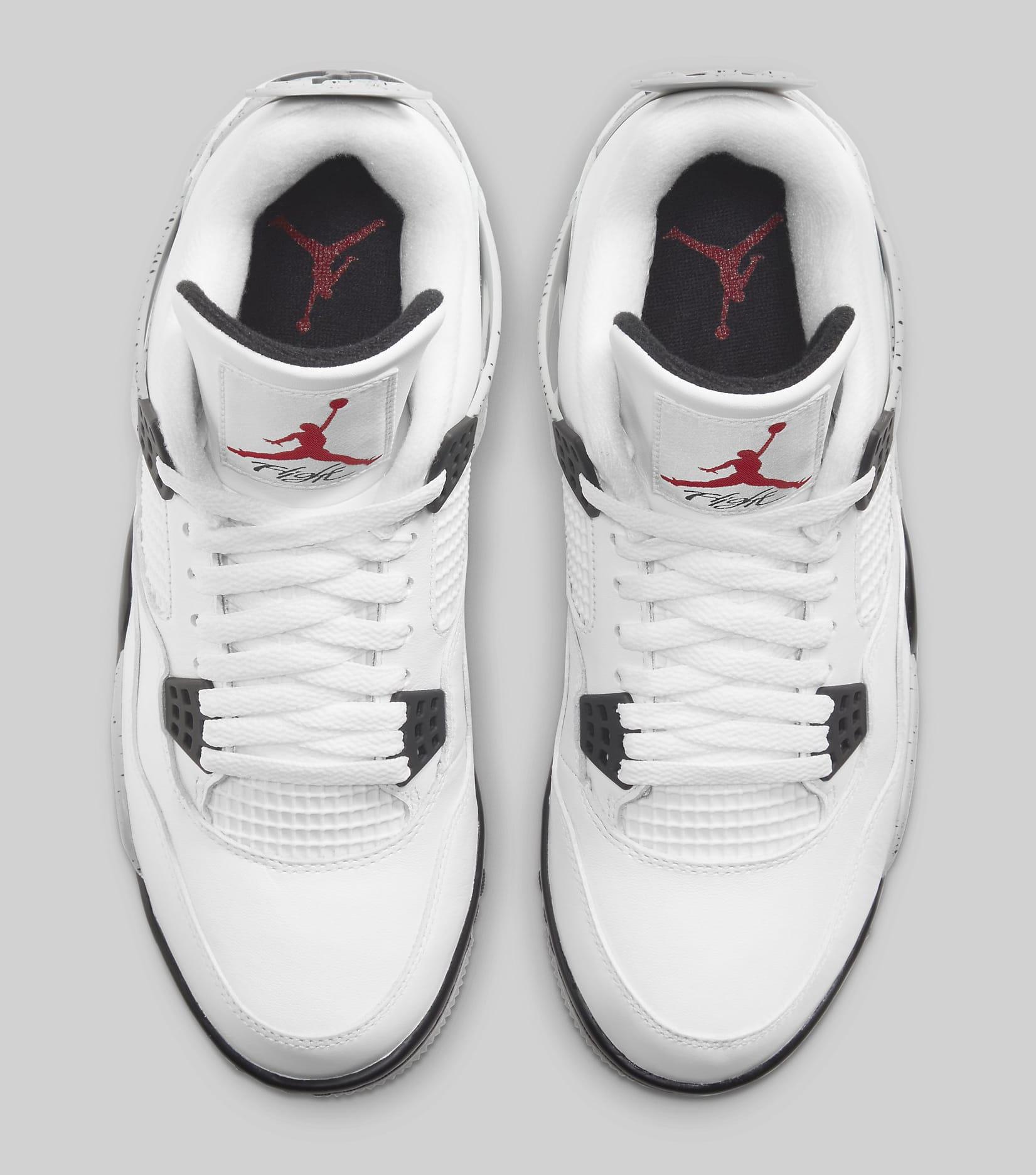 Air Jordan 4 Golf 'White Cement' CU9981-100 Top
