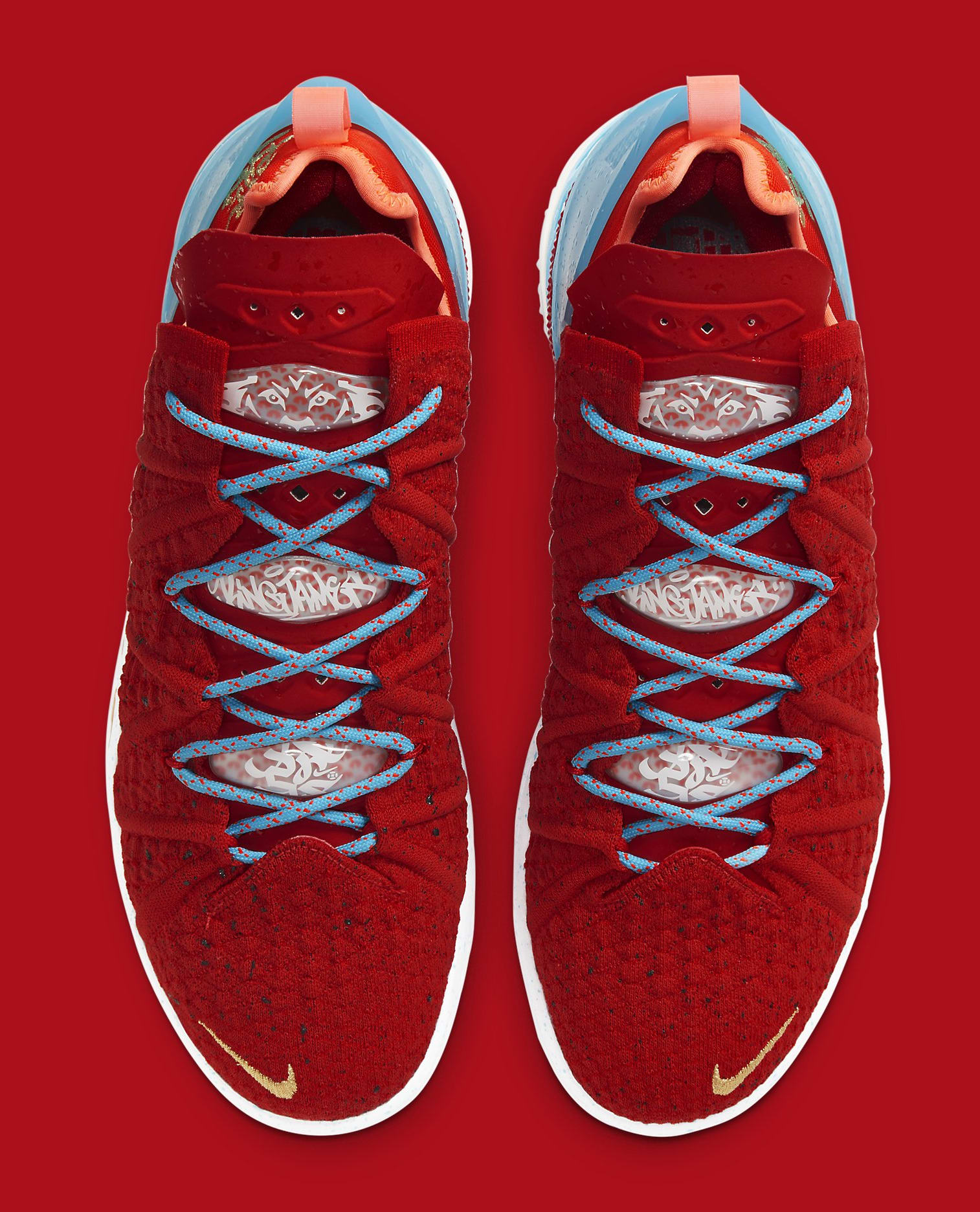 Nike LeBron 18 'Chinese New Year' CW3155-600 Top