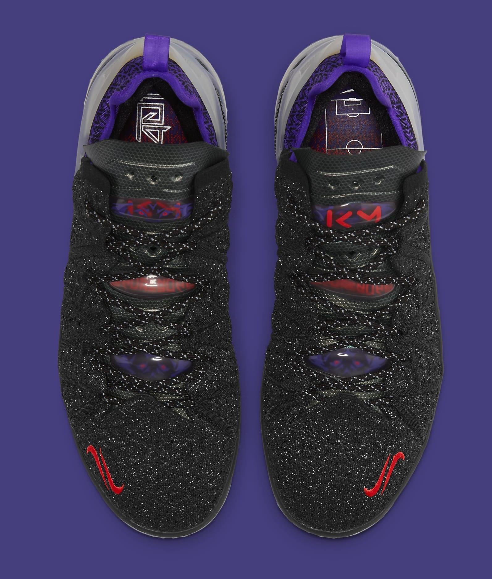 Kylian Mbappe x Nike LeBron 18 GS DB7644-001 Top