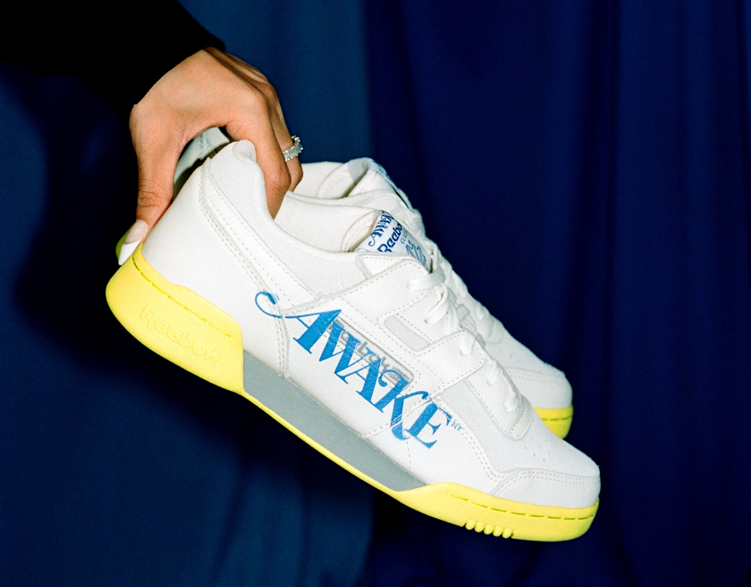 Awake NY x Reebok Workout Low (White)