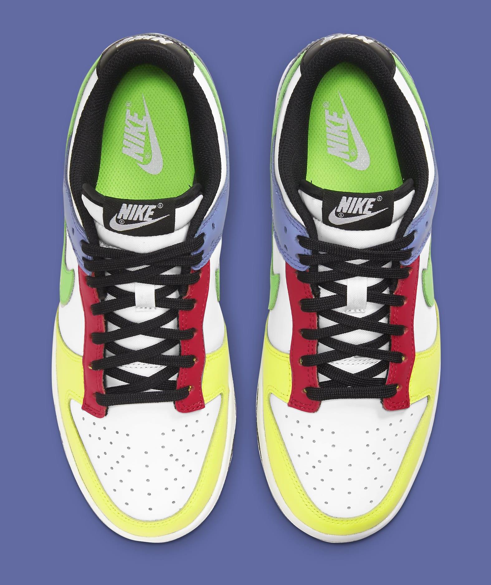 Nike Dunk Low Women's 'Green Strike' DD1503-106 Top