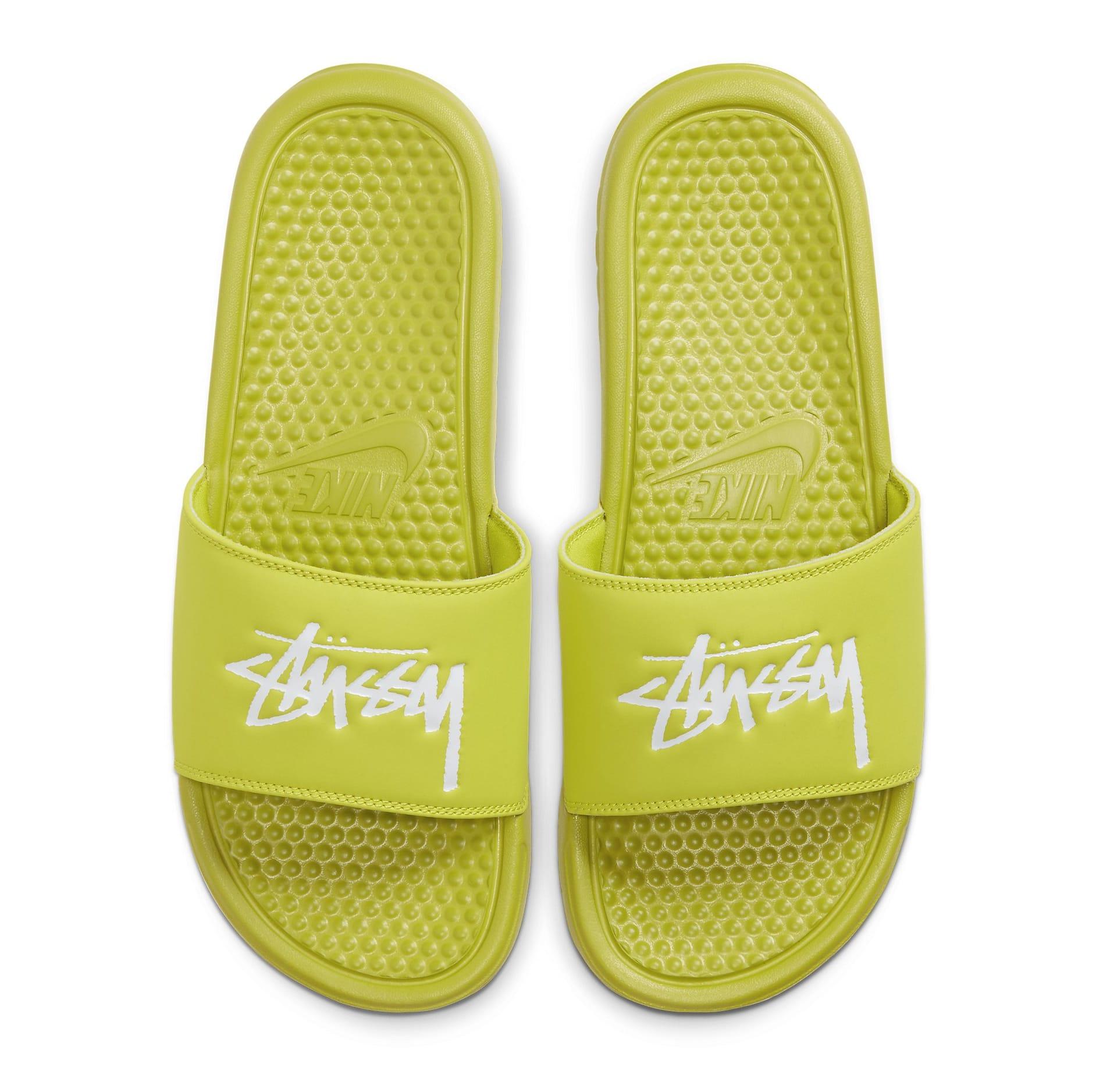 Stussy x Nike Benassi 'Bright Cactus' CW2787-300 Top