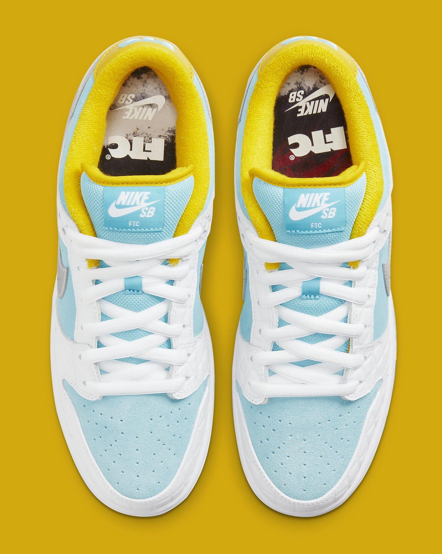 FTC x Nike SB Dunk Low DH7687-400 Top