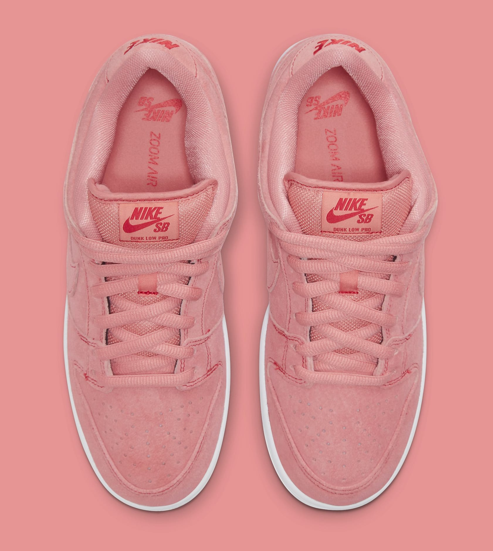 Nike SB Dunk Low 'Pink Pig' CV1655-600 Top