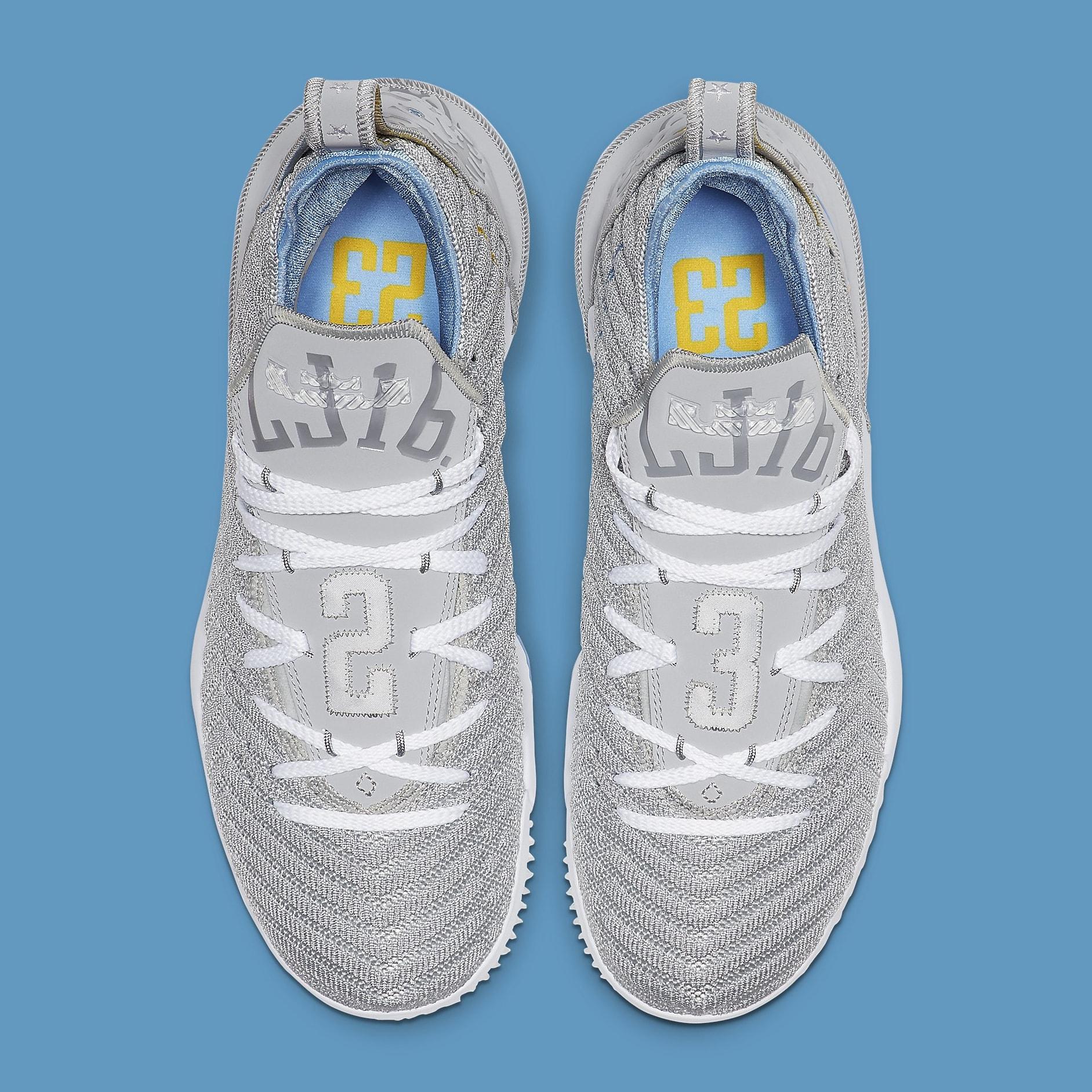 389f421b70290 Image via Nike Nike LeBron 16 MPLS Release Date CK4765-001 Top