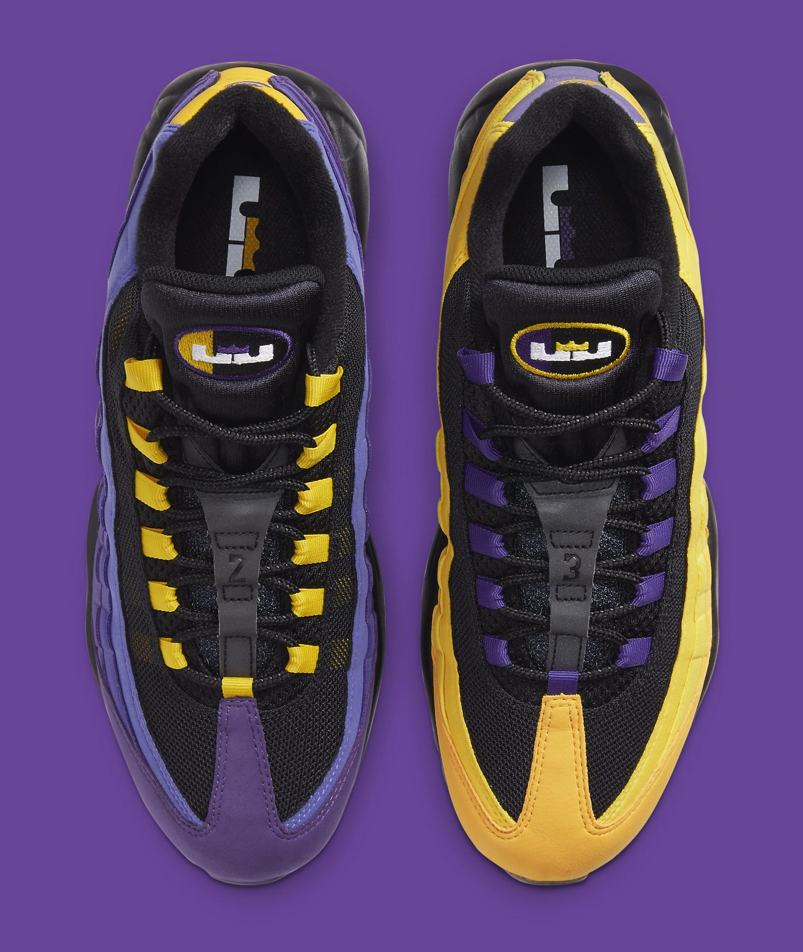 Nike Air Max 95 LeBron Lakers Release Date CZ3624-001 | Sole Collector