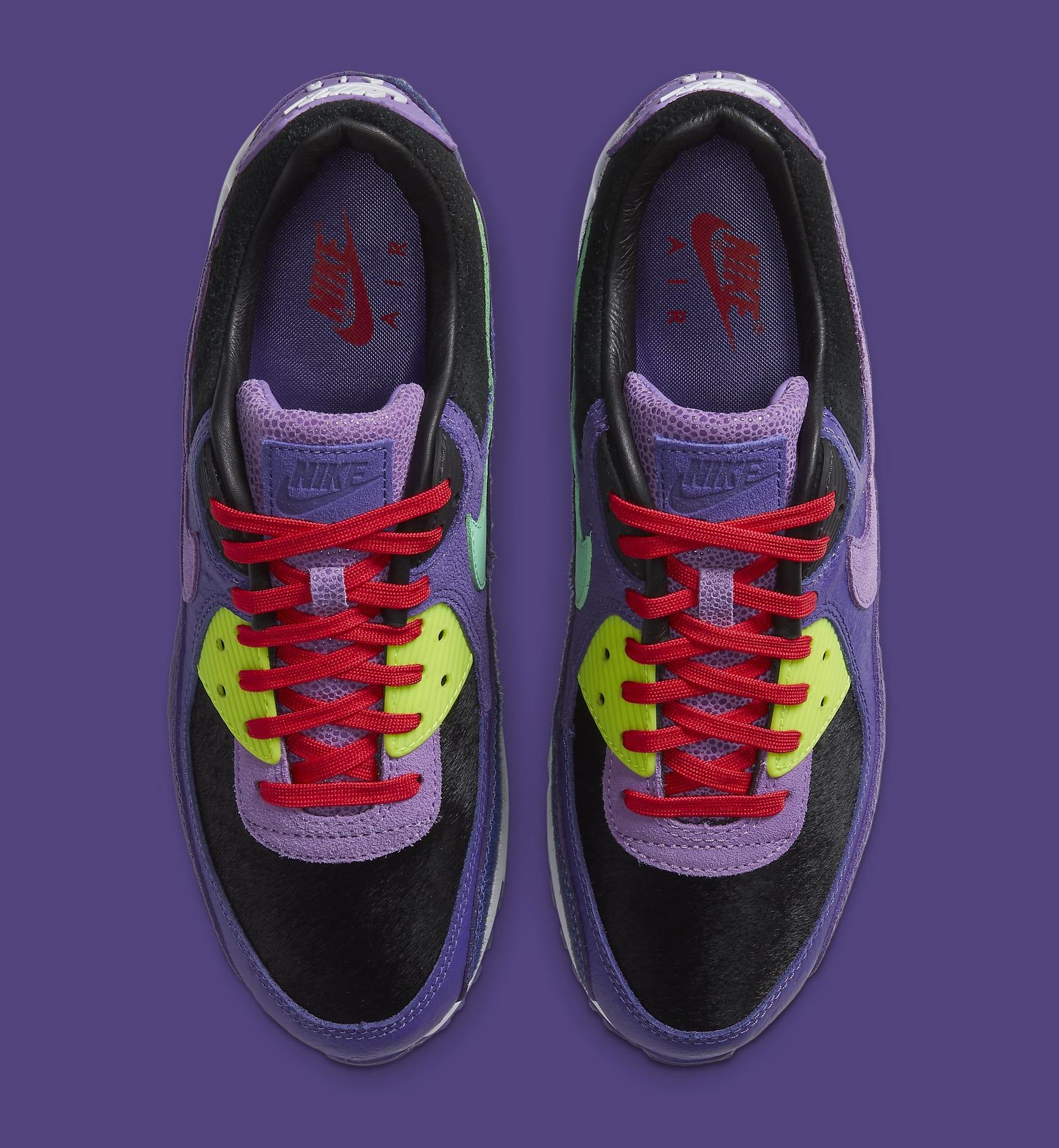Nike Air Max 90 'Violet Blend' CZ5588-001 Top