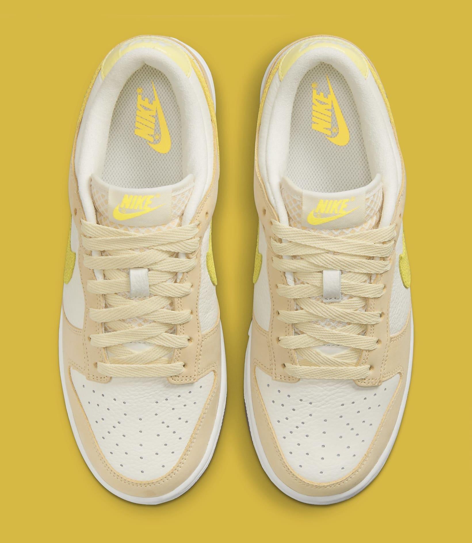 Nike Dunk Low 'Lemon Drop' DJ6902-700 Top