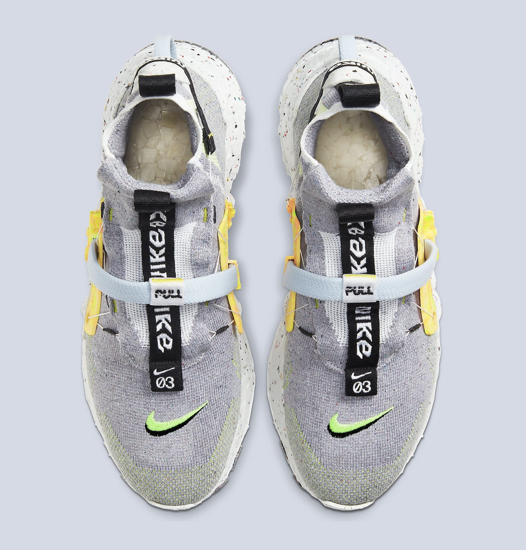 Nike Space Hippie 03 'Grey/Volt' CQ3989-002 Top