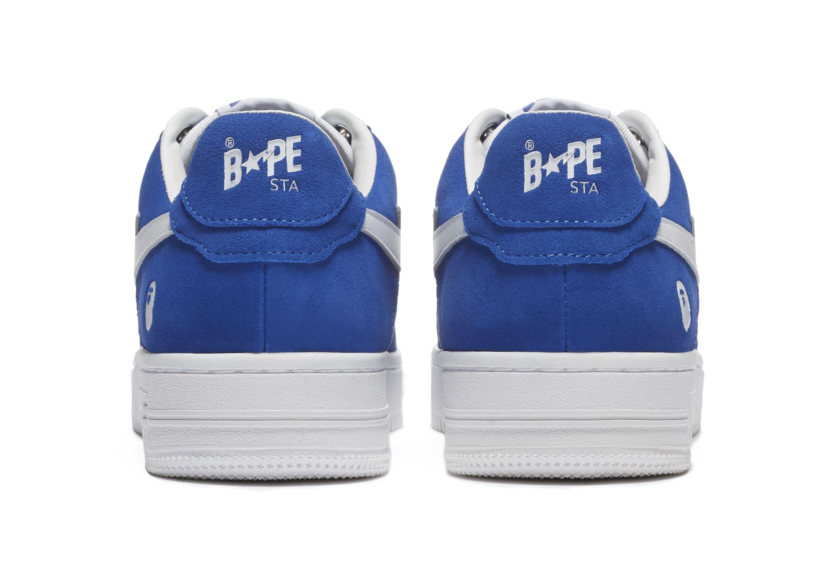 Bape Sta Suede 'Blue' Heel