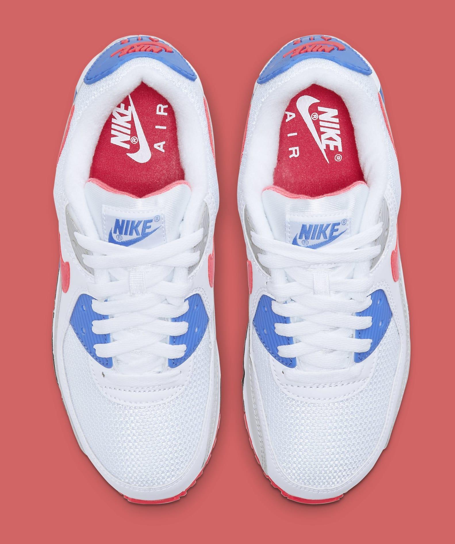 Nike Air Max 90 'Hot Coral' DA8856-100 (Top)