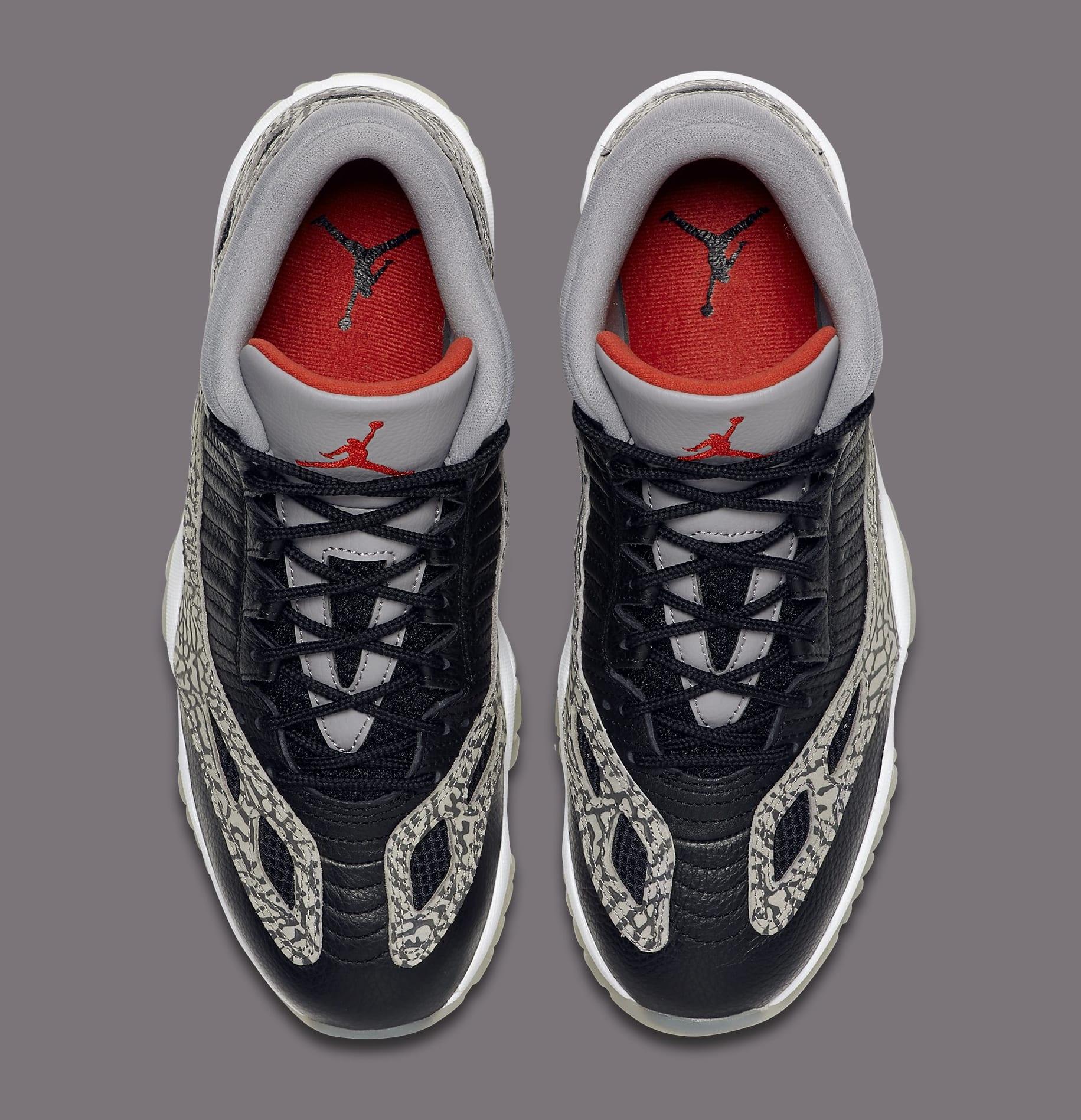 Air Jordan 11 Retro Low IE 'Black Cement' 919712-006 Top