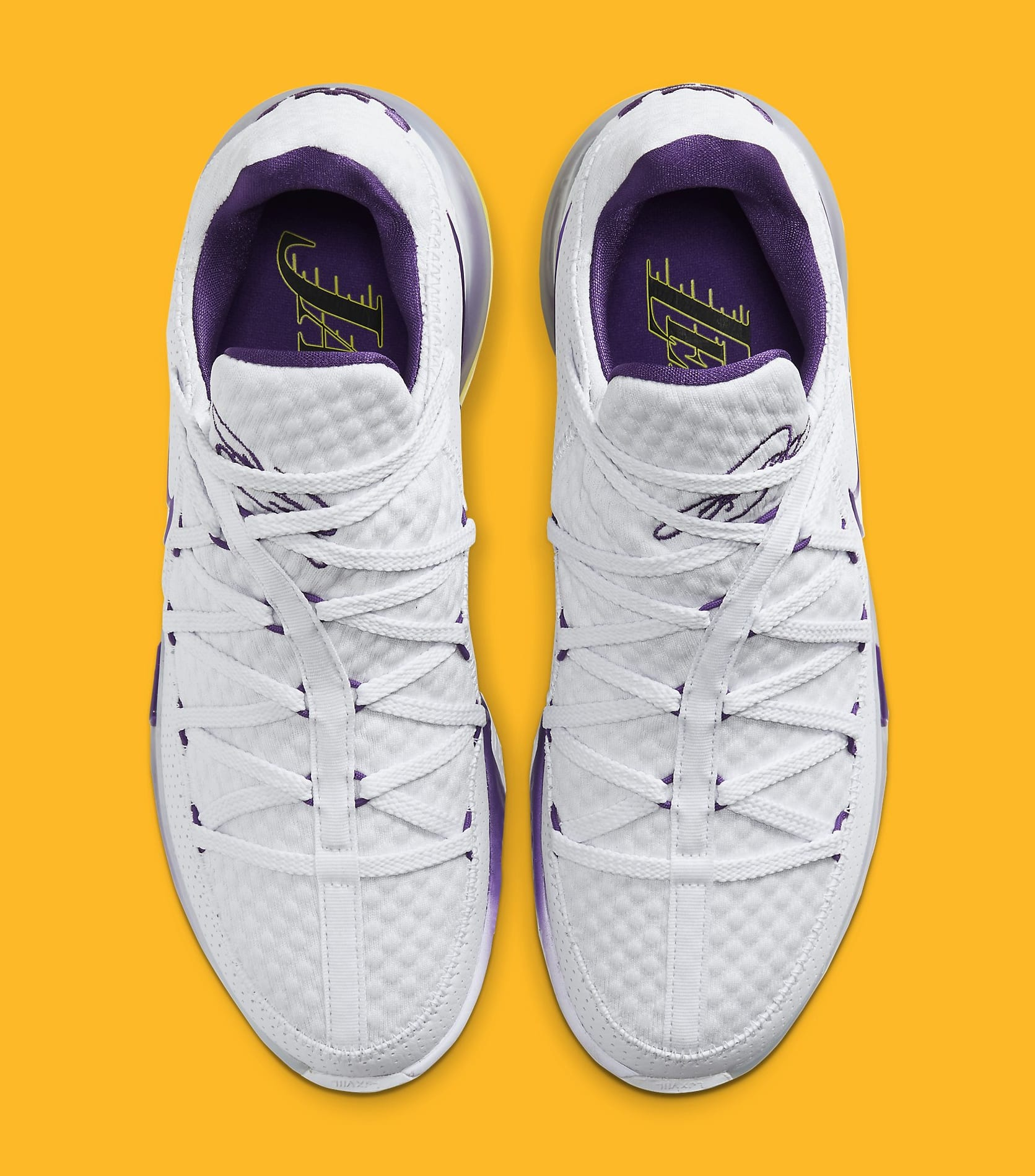 "Nike LeBron 17 Low ""Lakers"" Officially Unveiled: Photos"