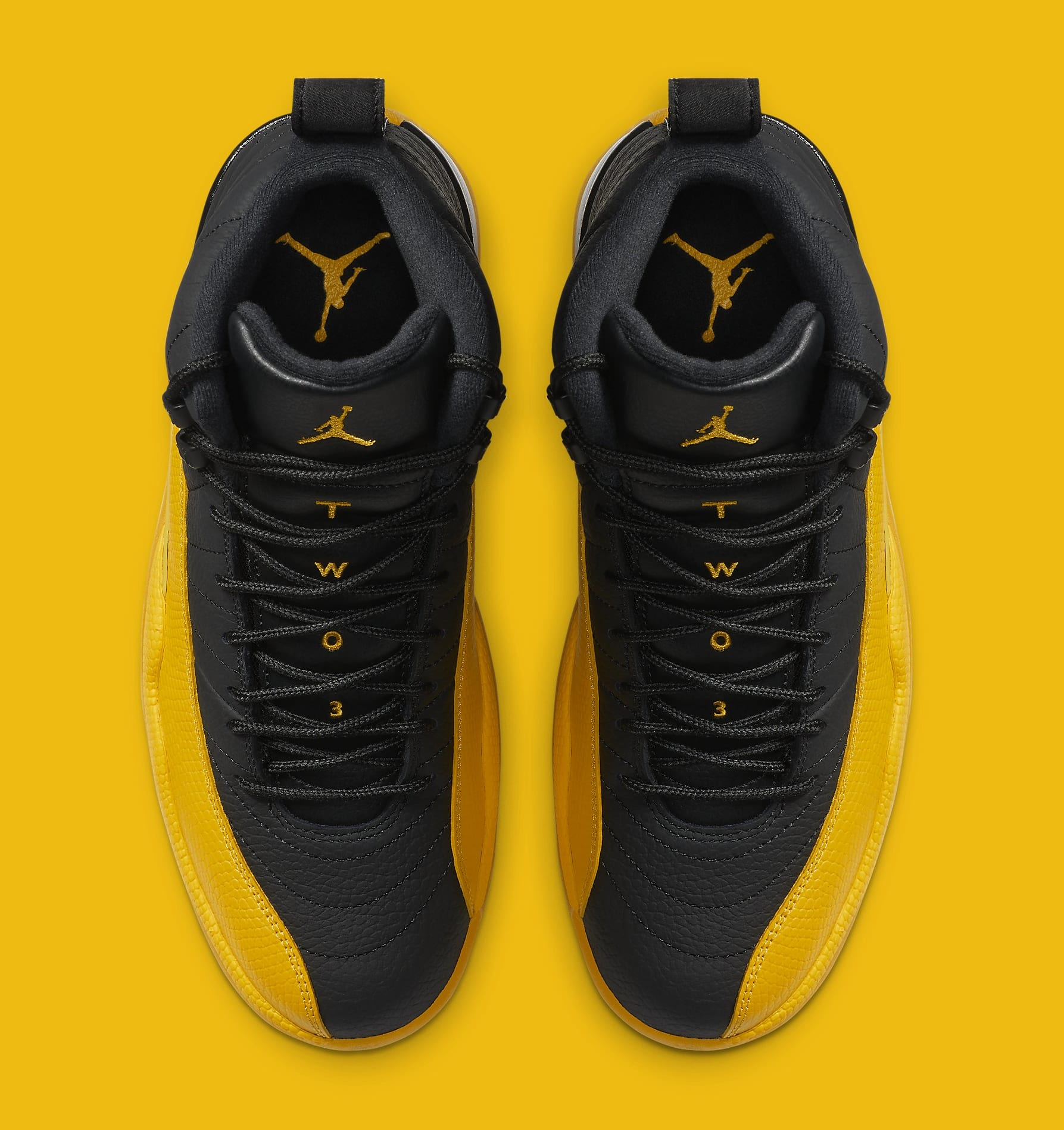 Air Jordan 12 Black University Gold Release Date 130690 070 Sole