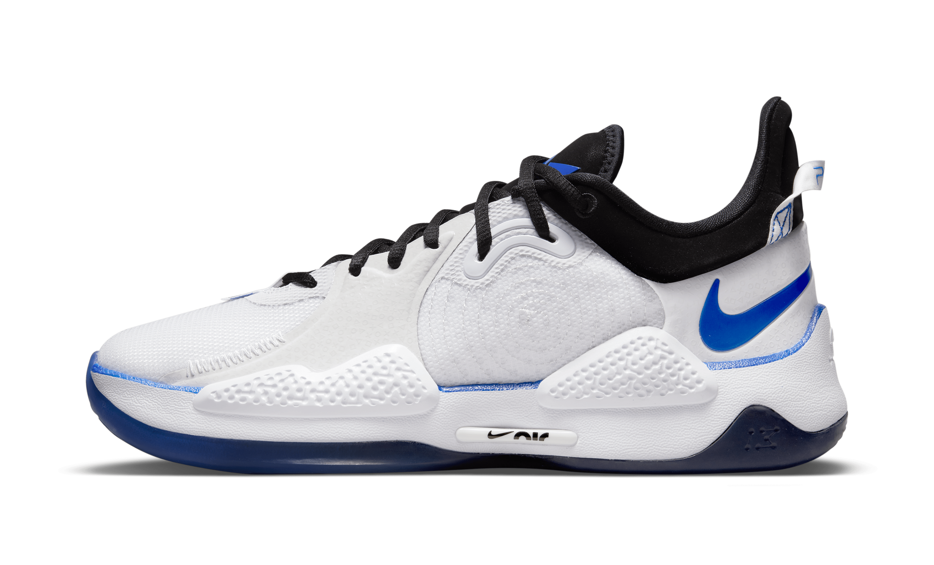 Playstation x Nike PG 5 'PS5' CW3144-100 (Lateral)