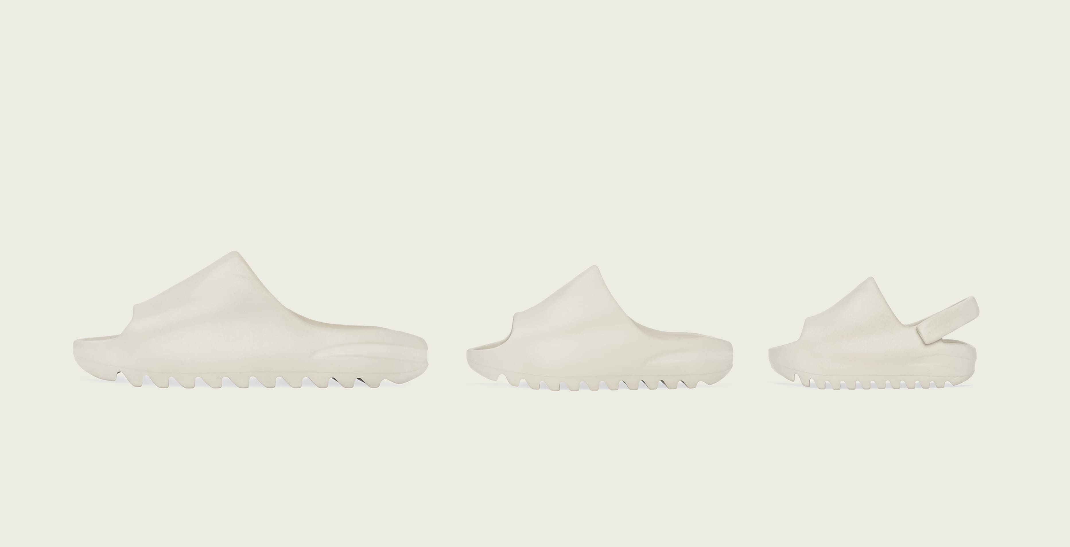 Adidas Yeezy Slide 'Bone' (Left)