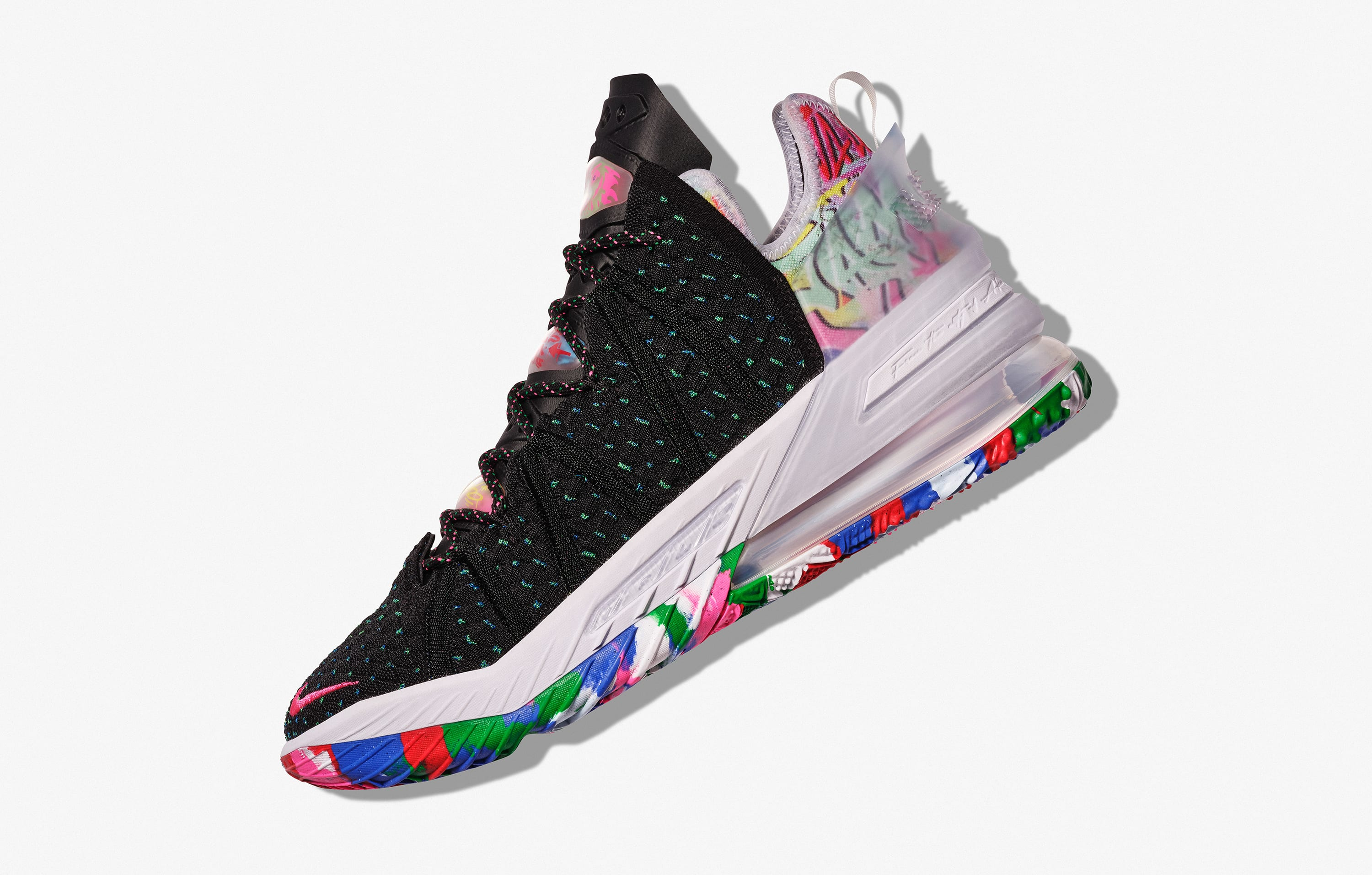 Nike LeBron 18 'Multicolor' Lateral