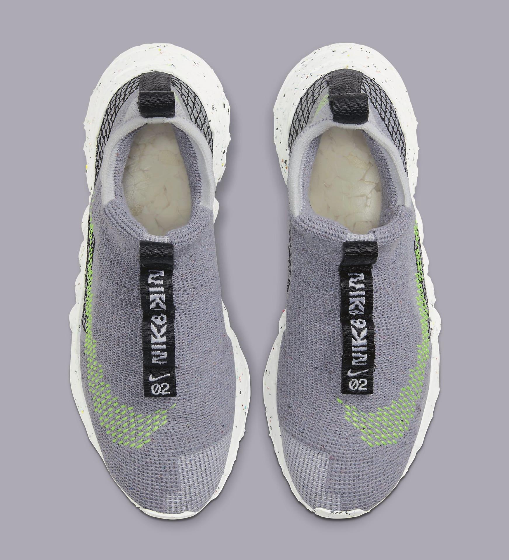 Nike Space Hippie 02 'Grey/Volt' CQ3988-002 Top