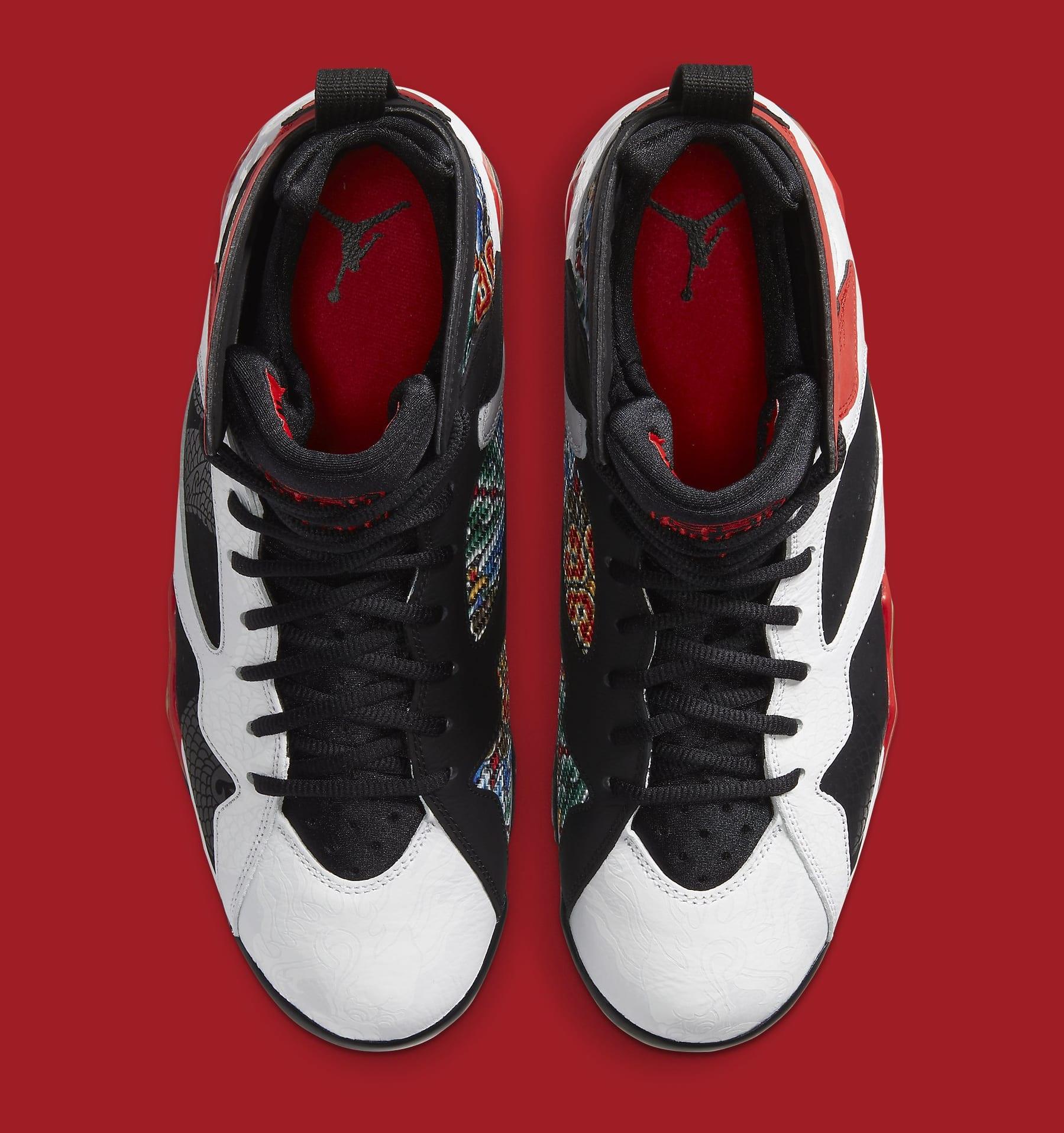 Air Jordan 7 GC 'China' CW2805-160 Top
