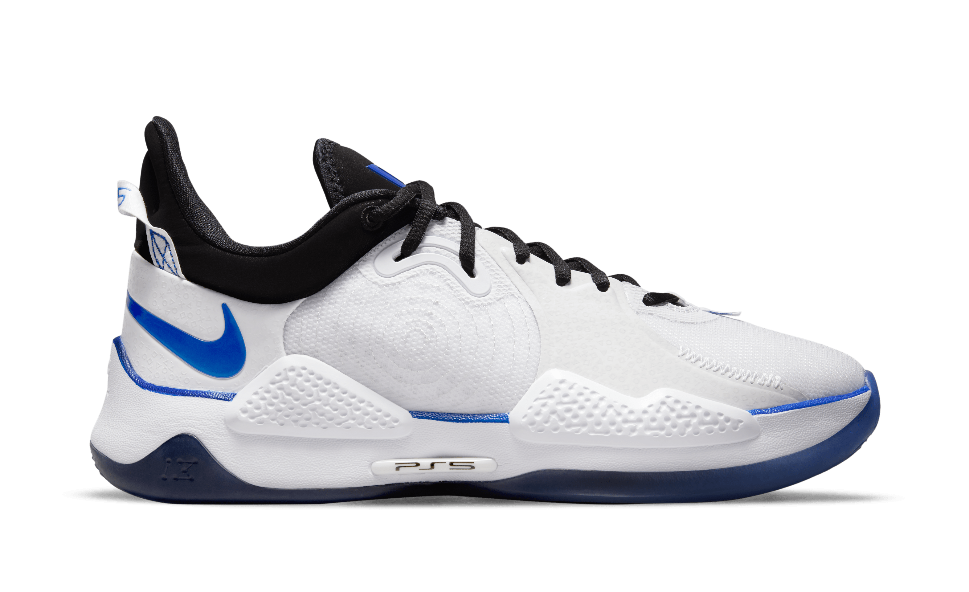 Playstation x Nike PG 5 'PS5' CW3144-100 (Medial)