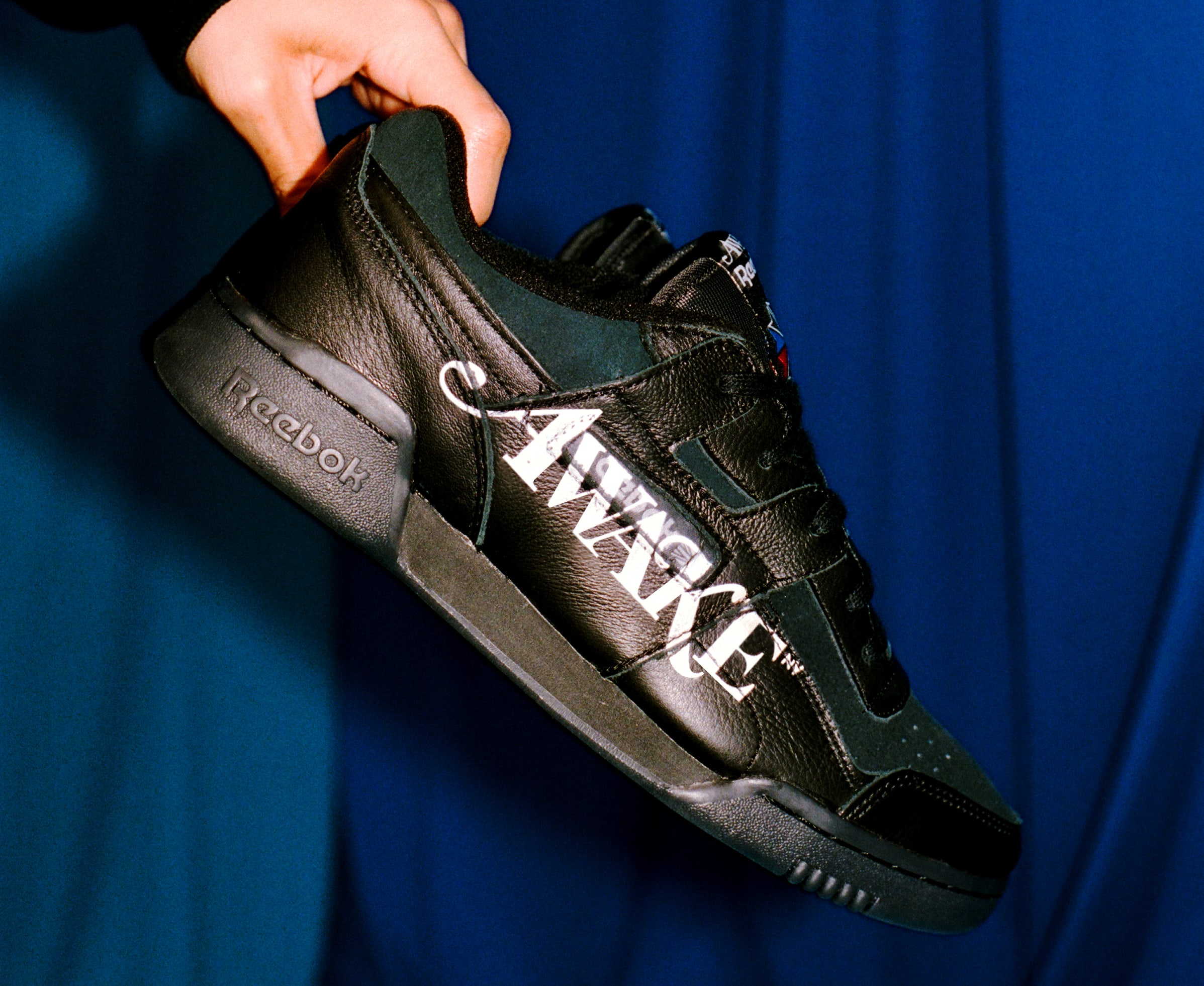 Awake NY x Reebok Workout Low (Black)