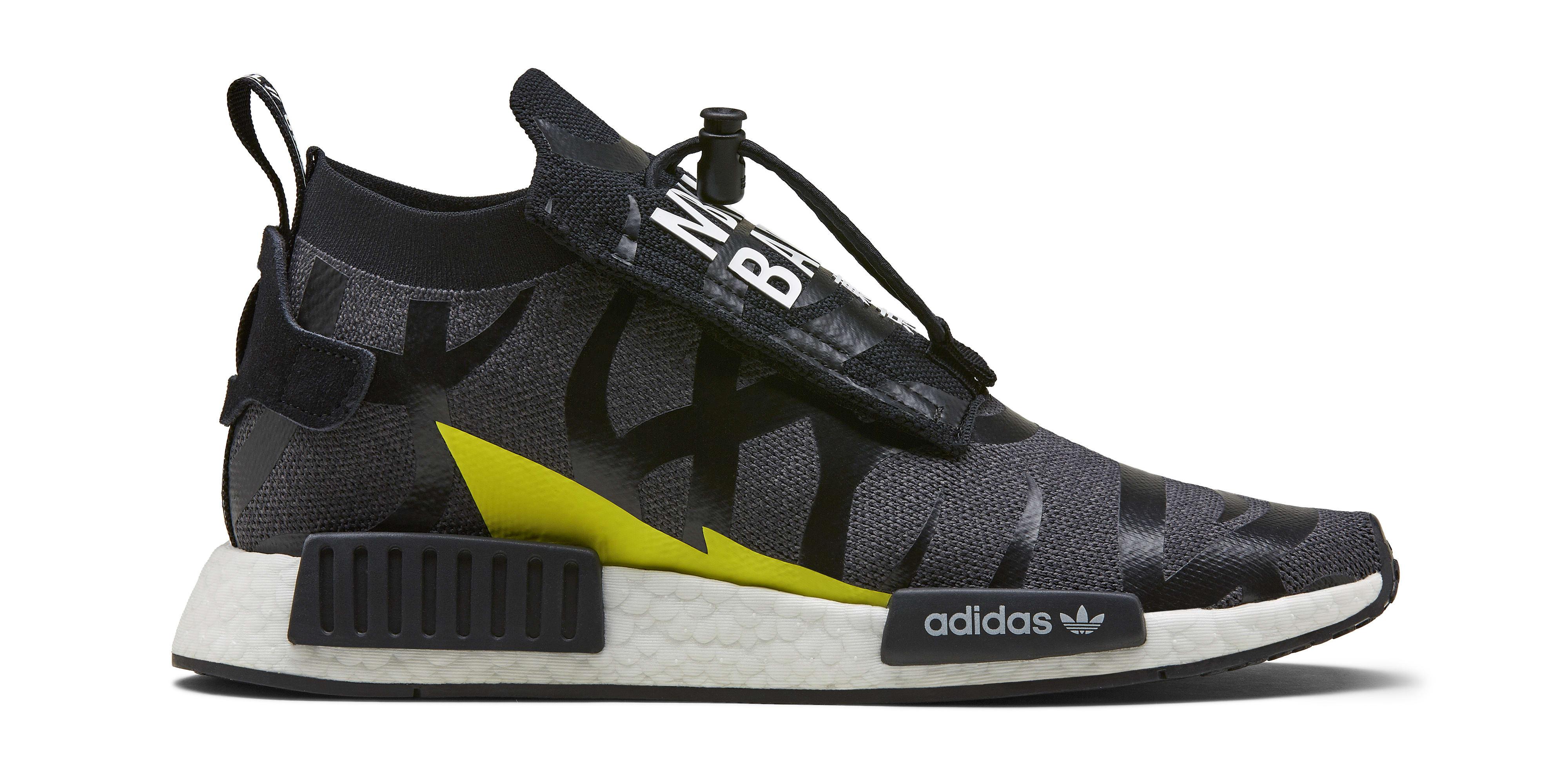 Bape x Neighborhood x Adidas NMD STLT EE9702 (Lateral)