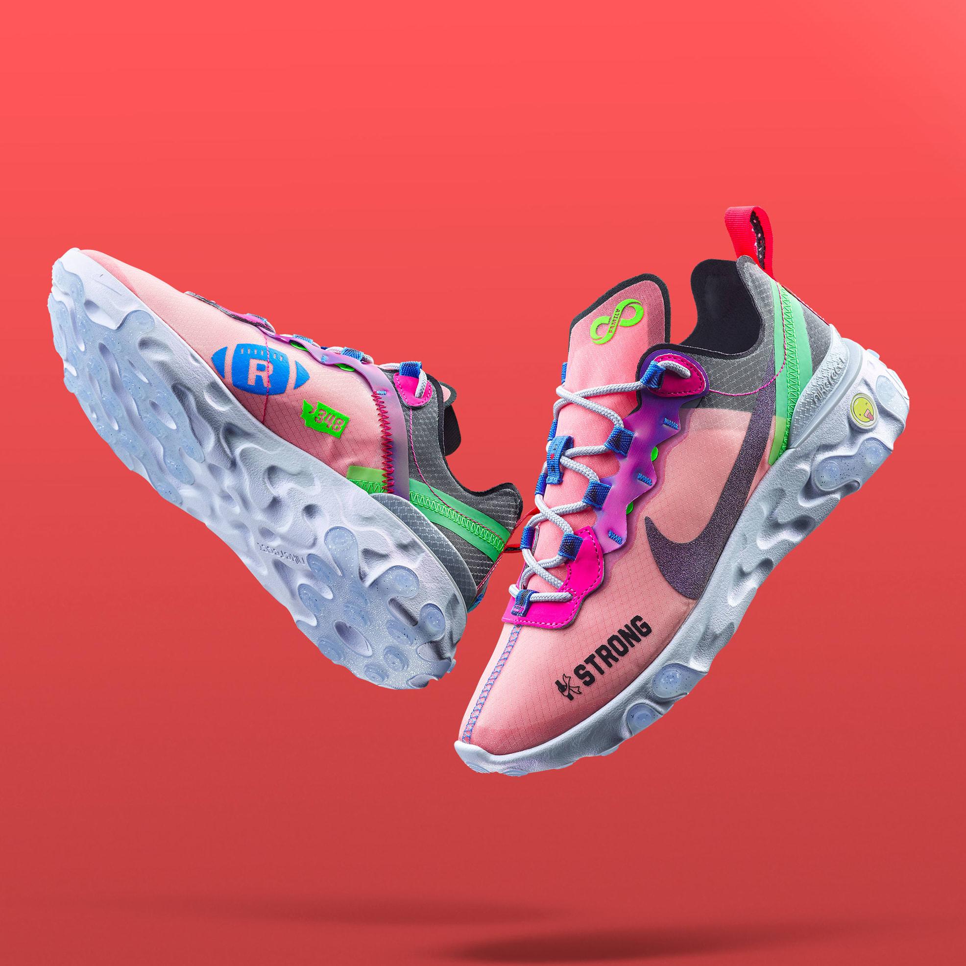 Nike React Element 55 Doernbecher by Kahleah Corona