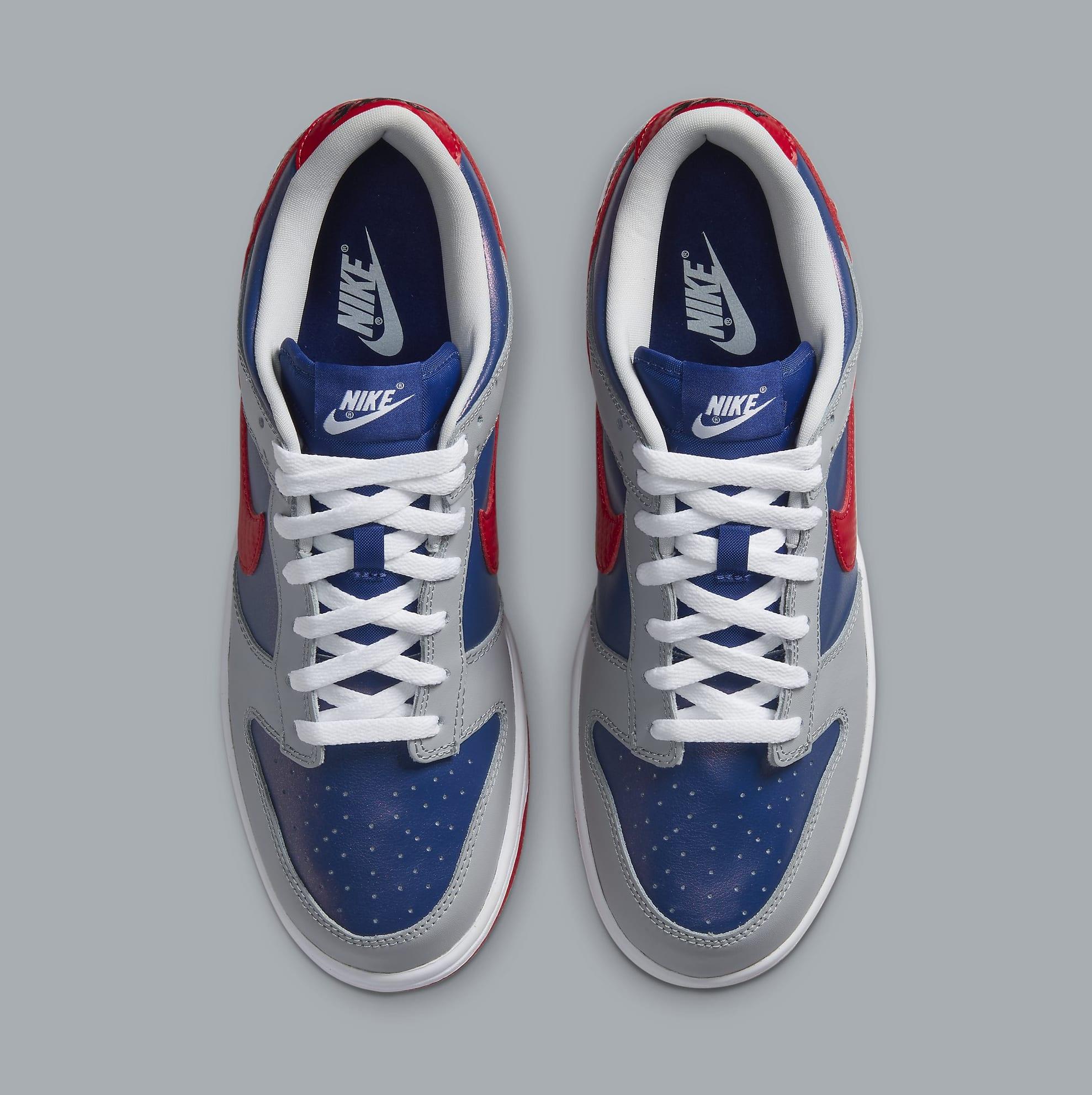 Nike Dunk Low Samba Release Date CZ2667-400 Top