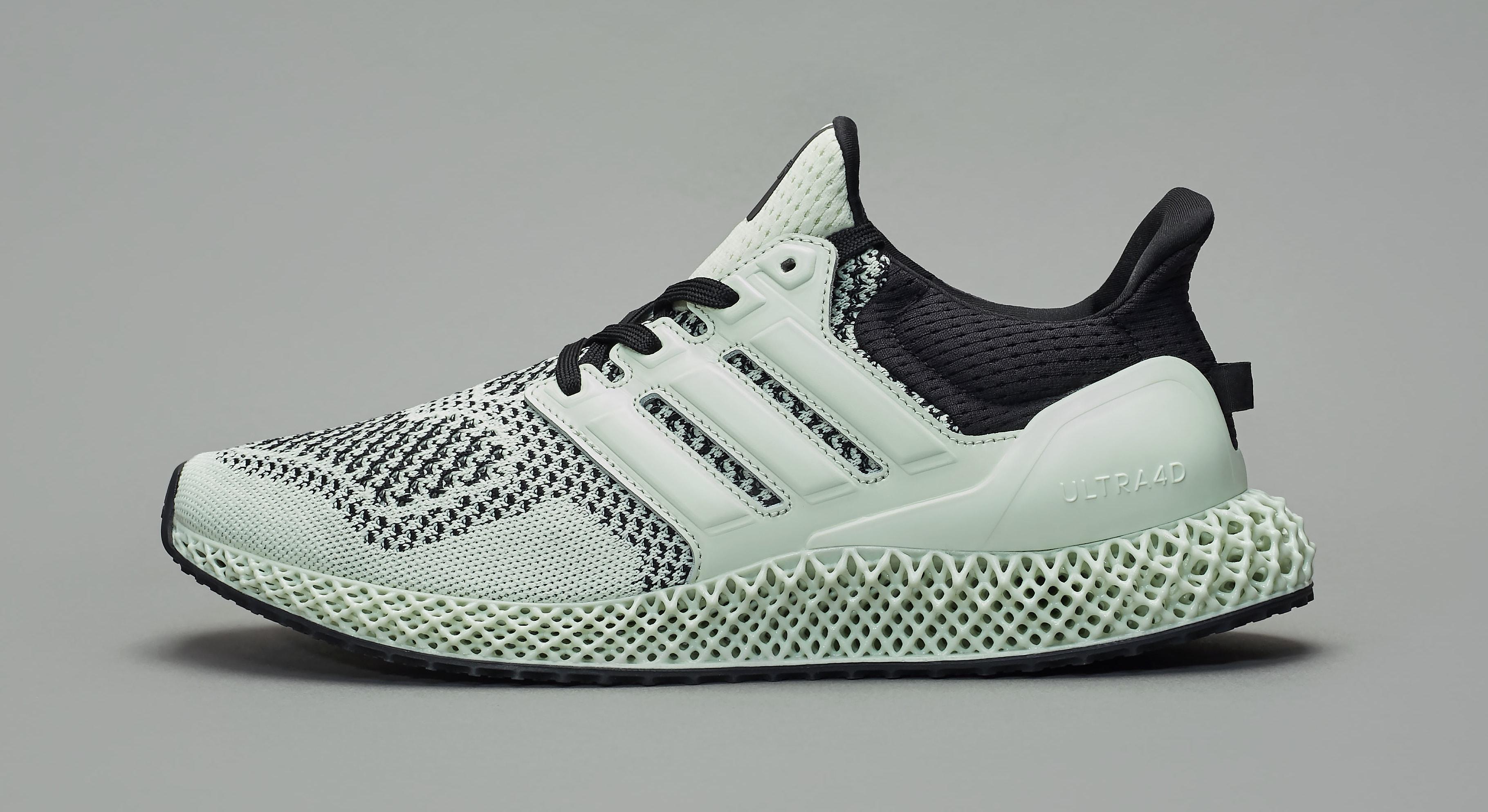 Sneakersnstuff x Adidas Ultra 4D 'Green Teatime' Medial