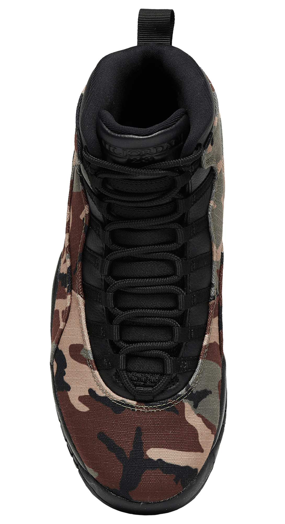 Air Jordan 10 Retro Desert Camo/Black-Light Chocolate 310805-201 Top