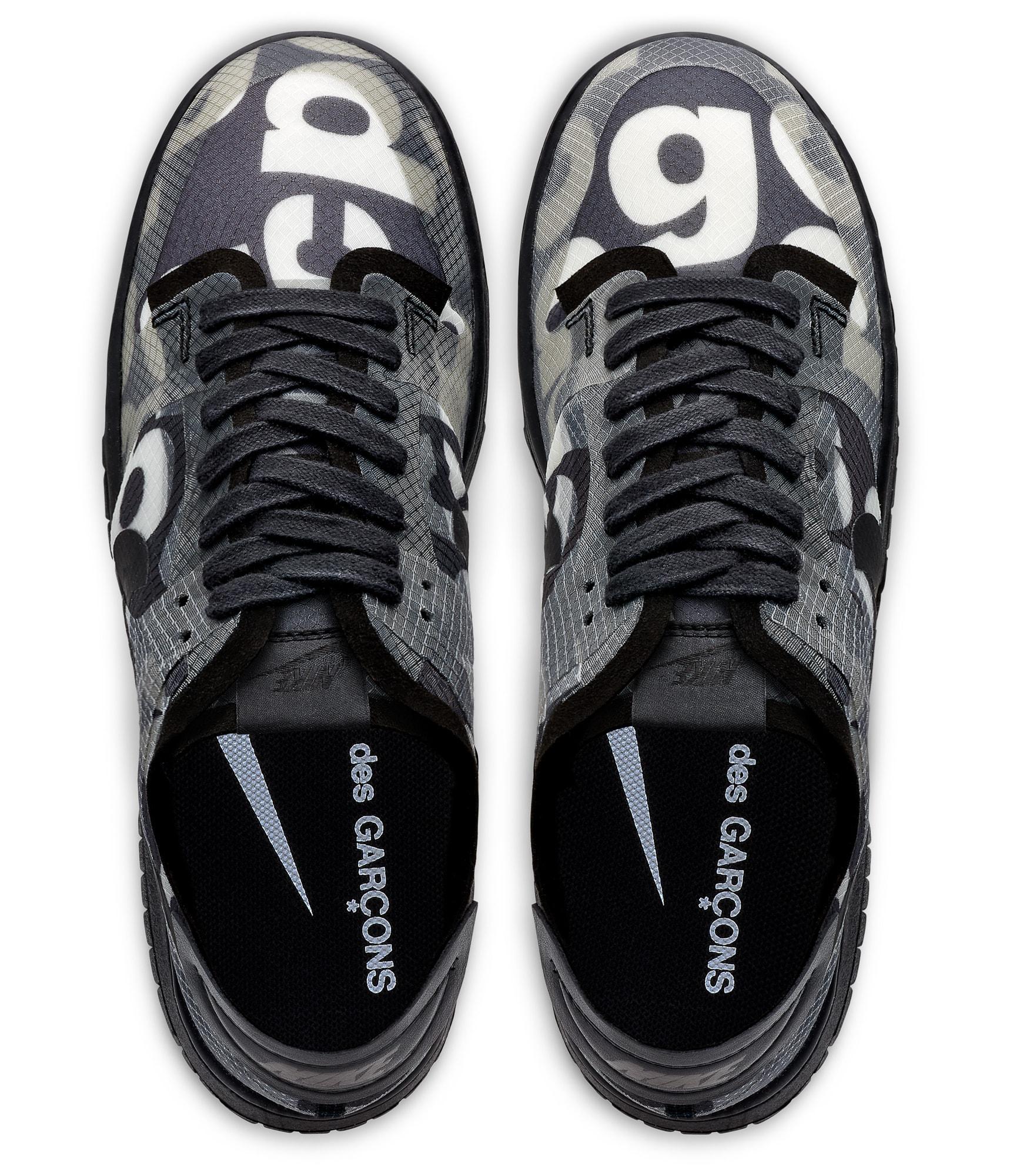 Comme Des Garcons x Nike Dunk Low Top