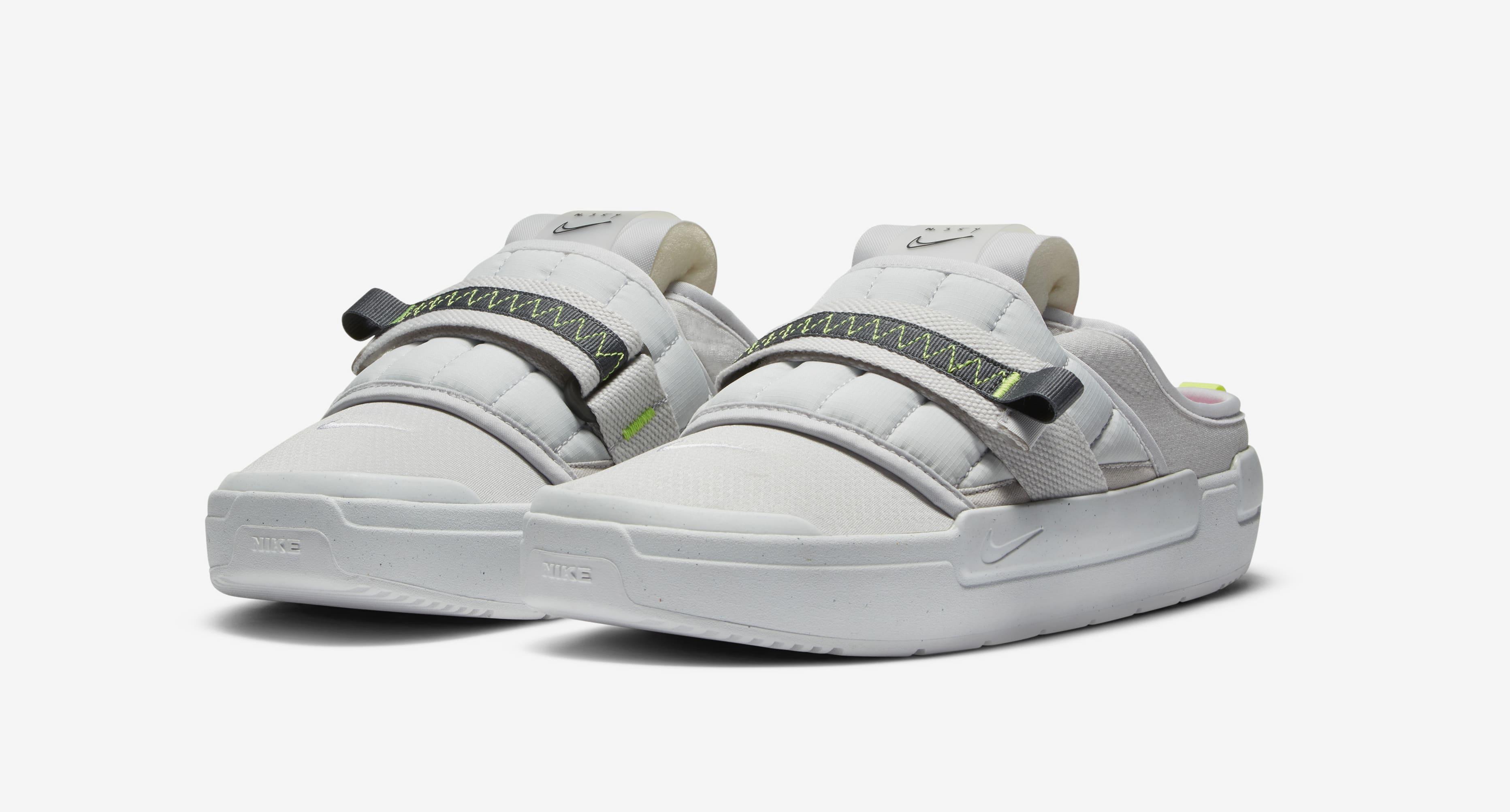 Nike Offline Slide Grey Pair