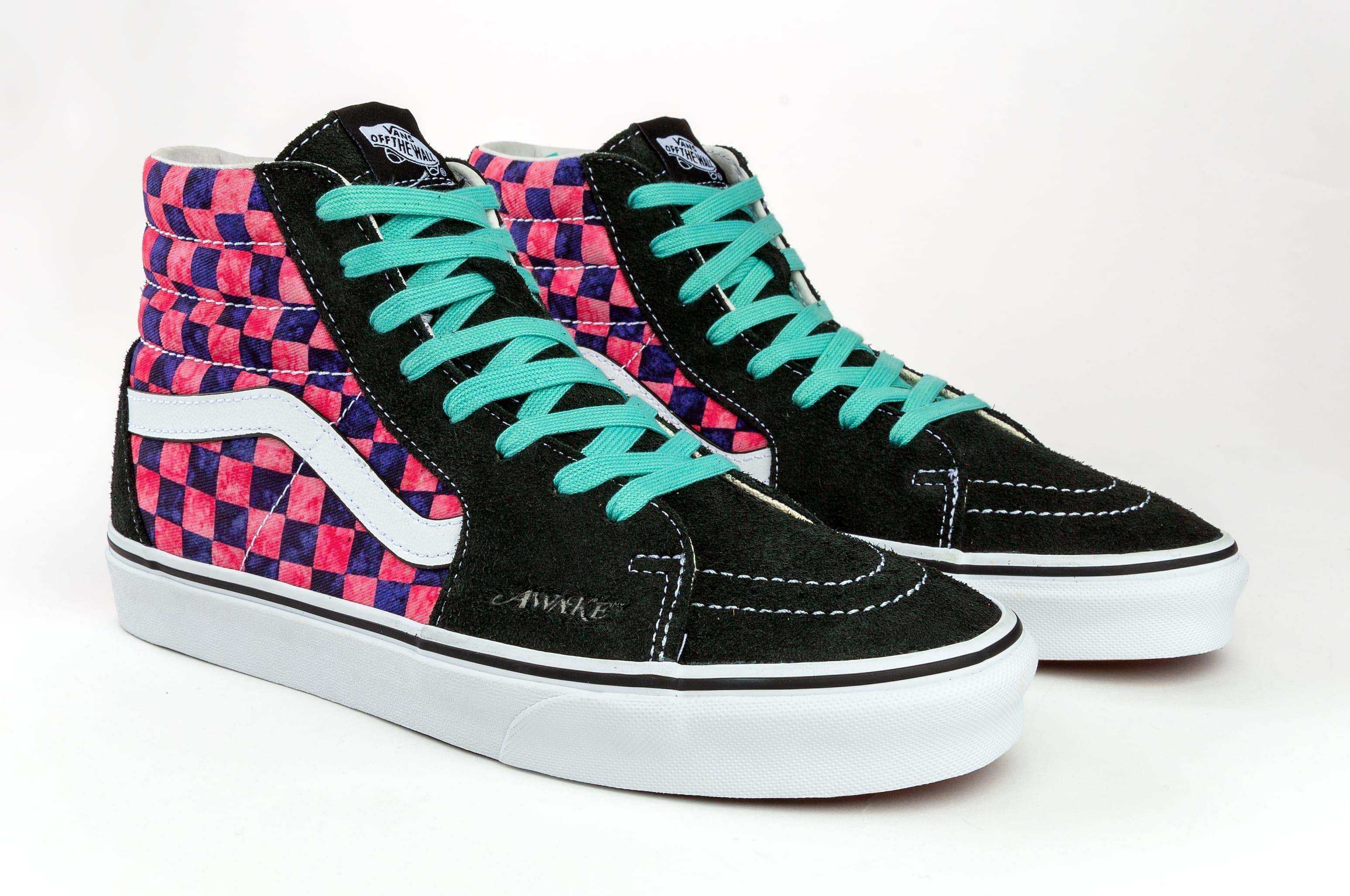 Awake NY x Vans Sk8-Hi Collab Pink