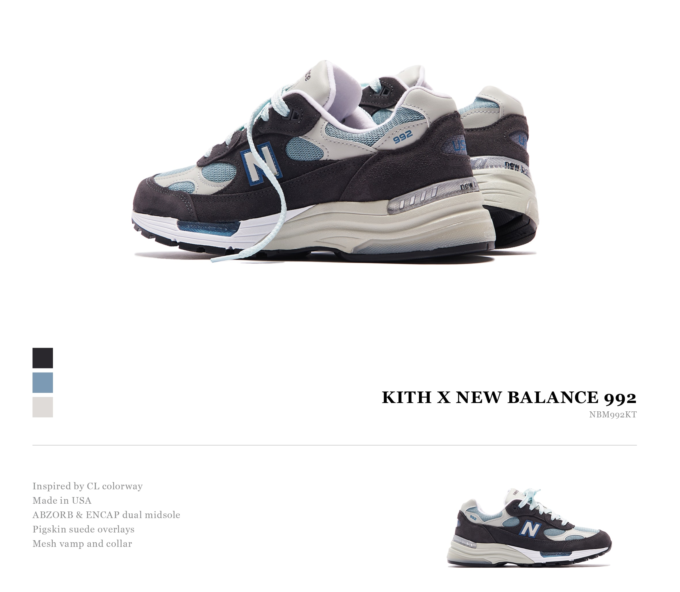 New Balance 992 (Kith Exclusive)
