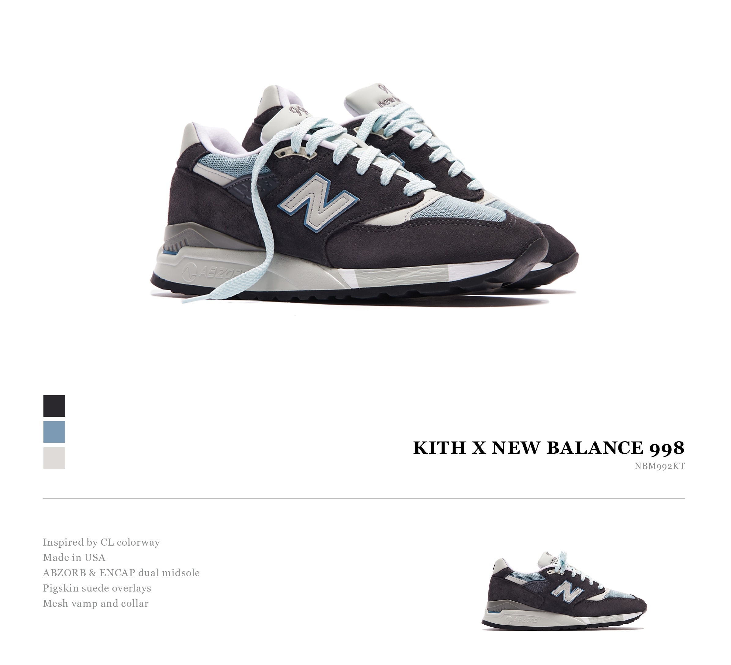 New Balance 998 (Kith Exclusive)