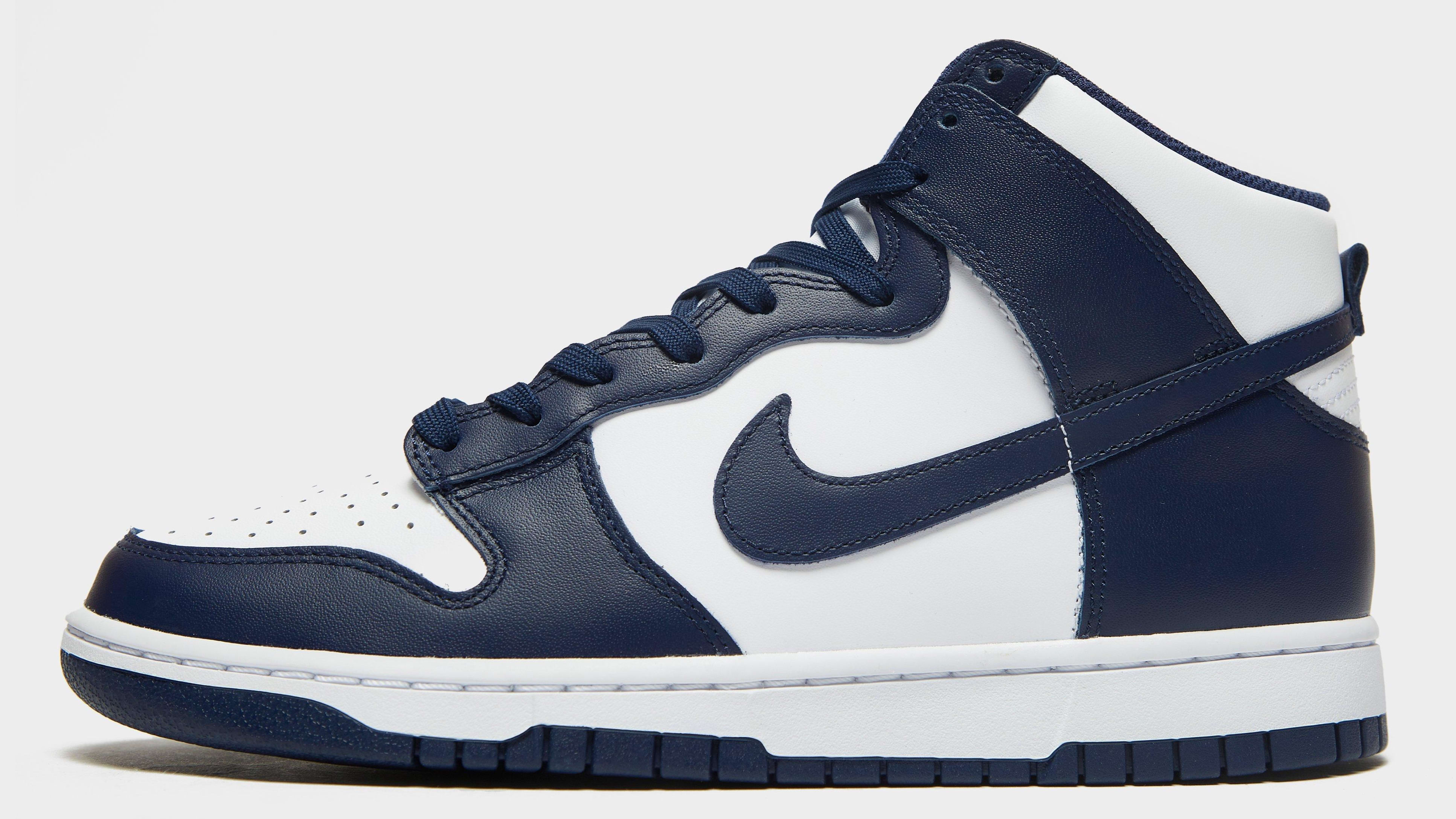 Nike Dunk High Midnight Navy 2021 Release Date Profile