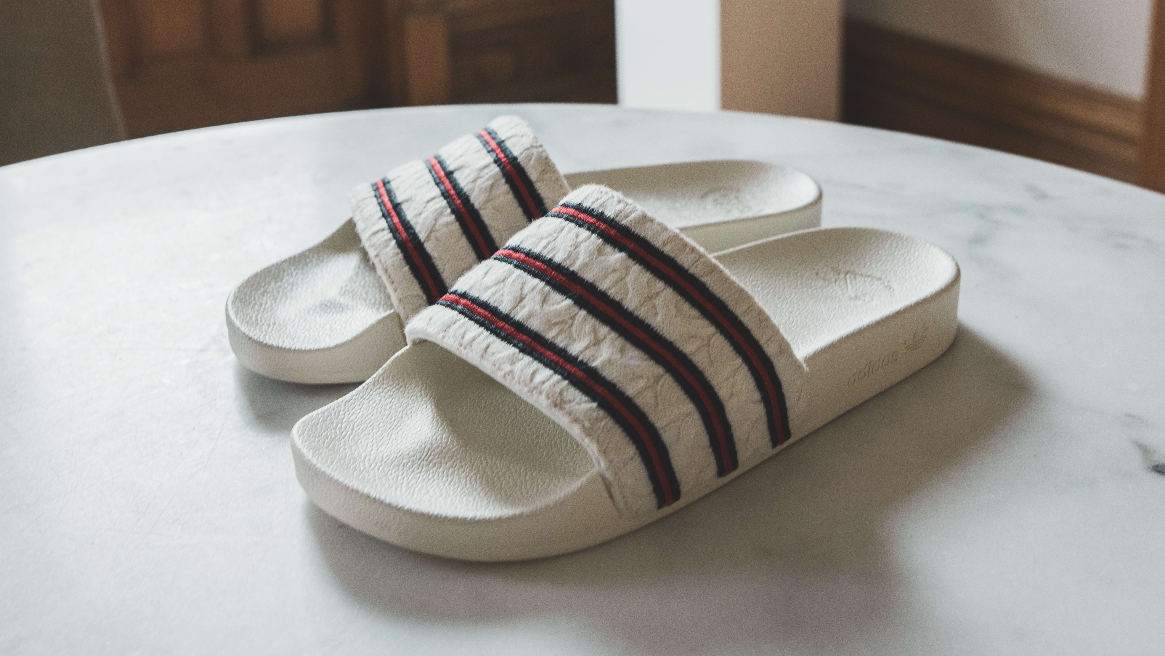 Extra Butter x Adidas Adilette Slide 'Cable Knit'