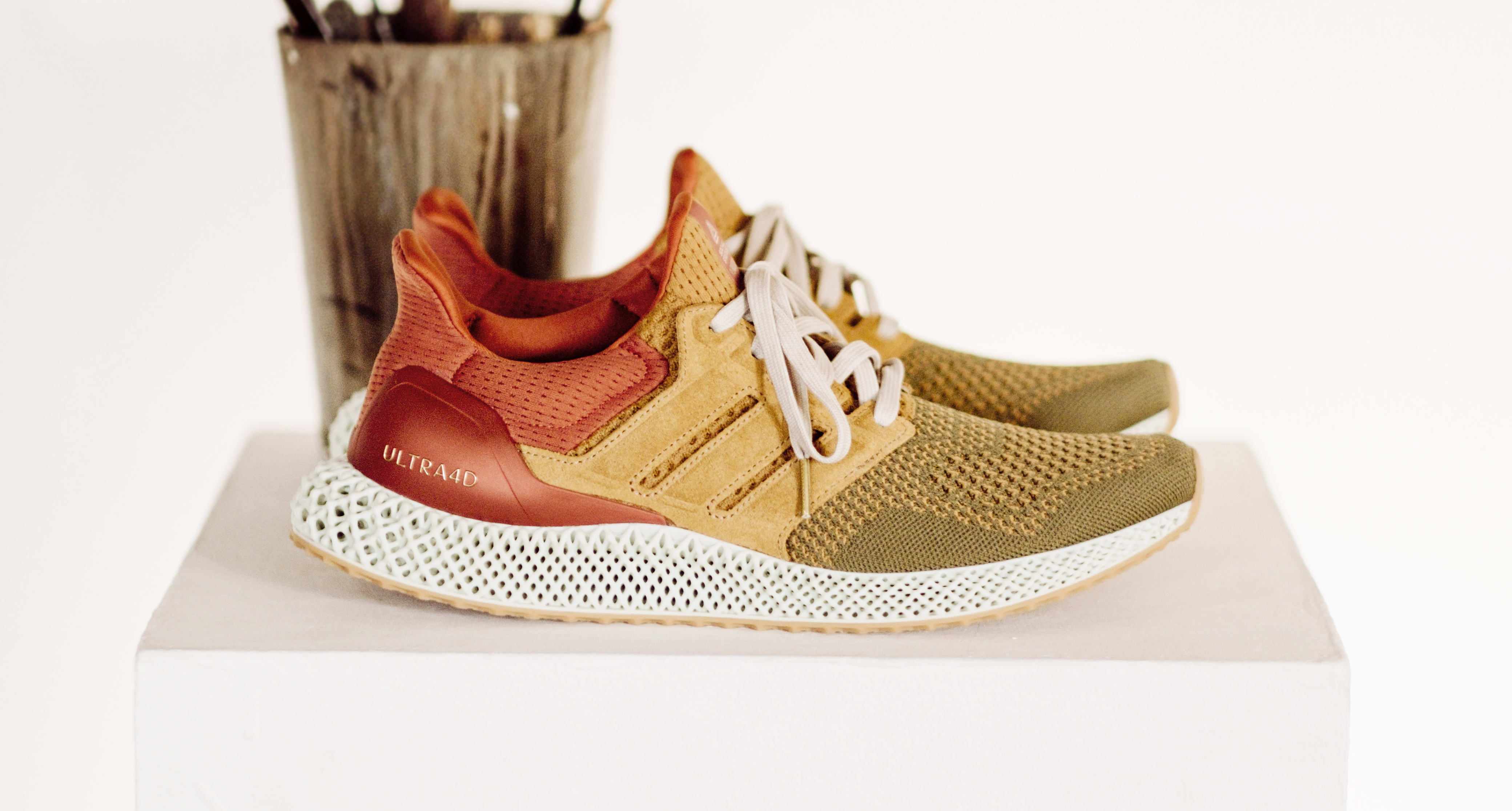 Social Status x Adidas Consortium Ultra 4D Side