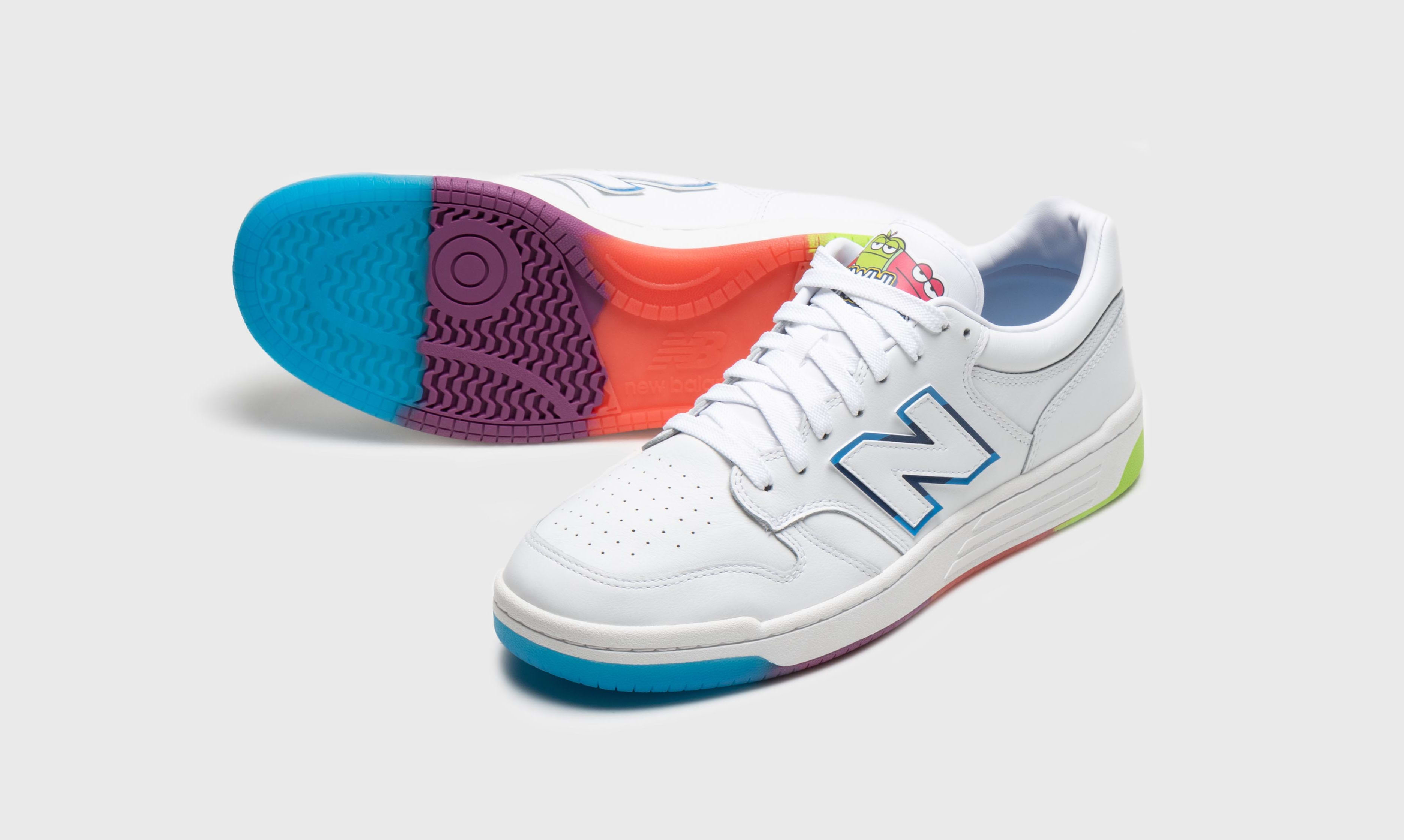 Jolly Rancher x New Balance 480 Low Front