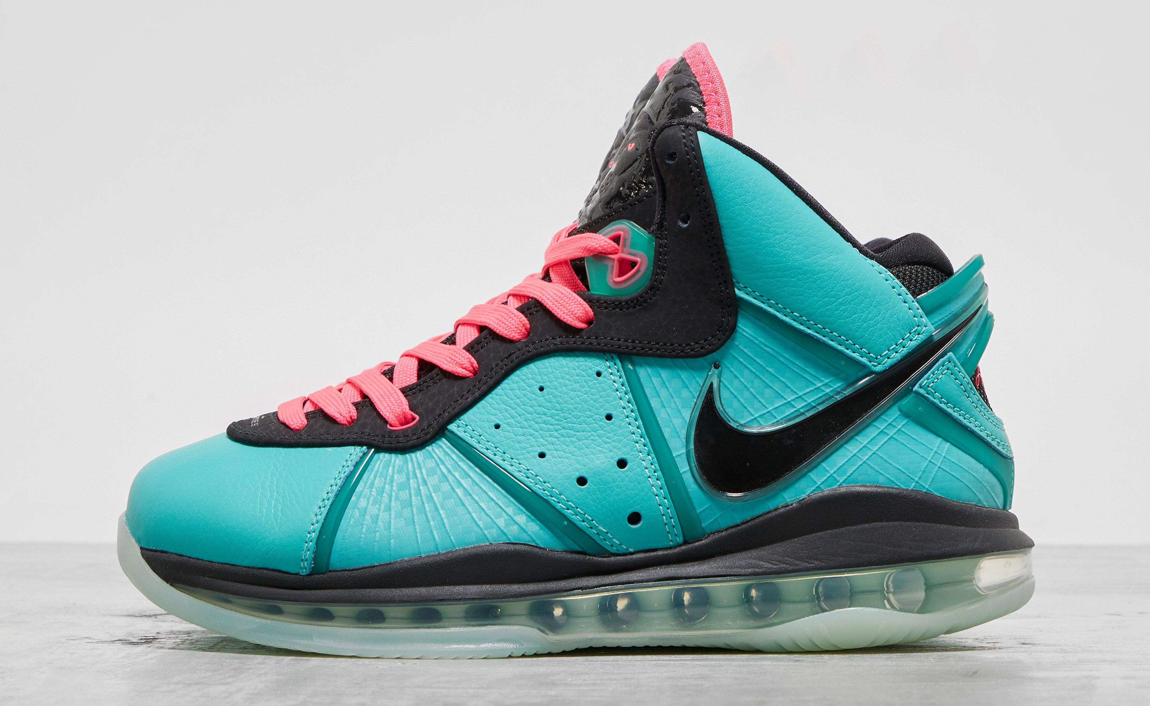 Nike LeBron 8 'South Beach' 2021 CZ0328-400 Lateral