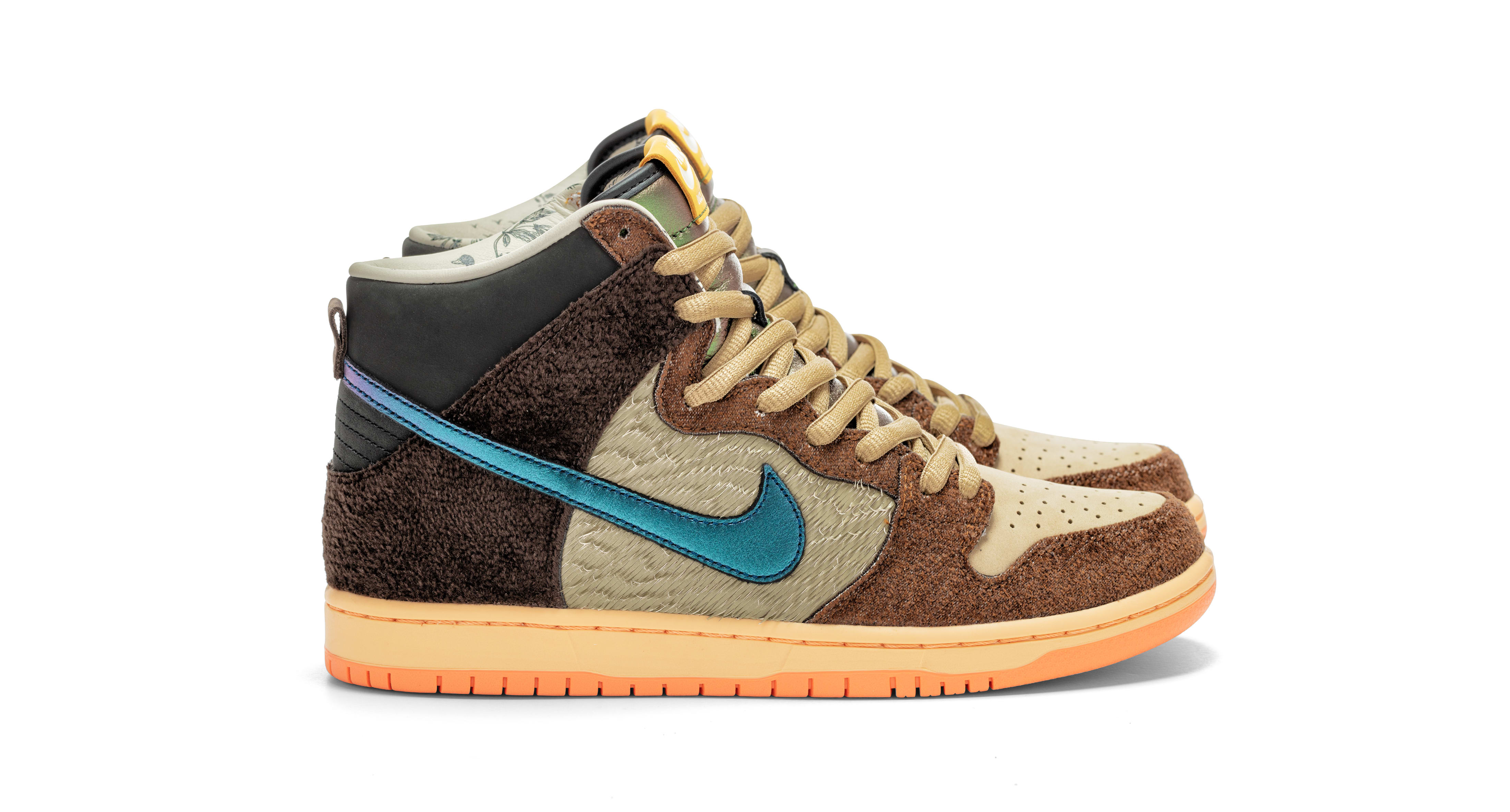 Concepts x Nike SB Dunk High 'TurDunken' DC6887-200 Lateral