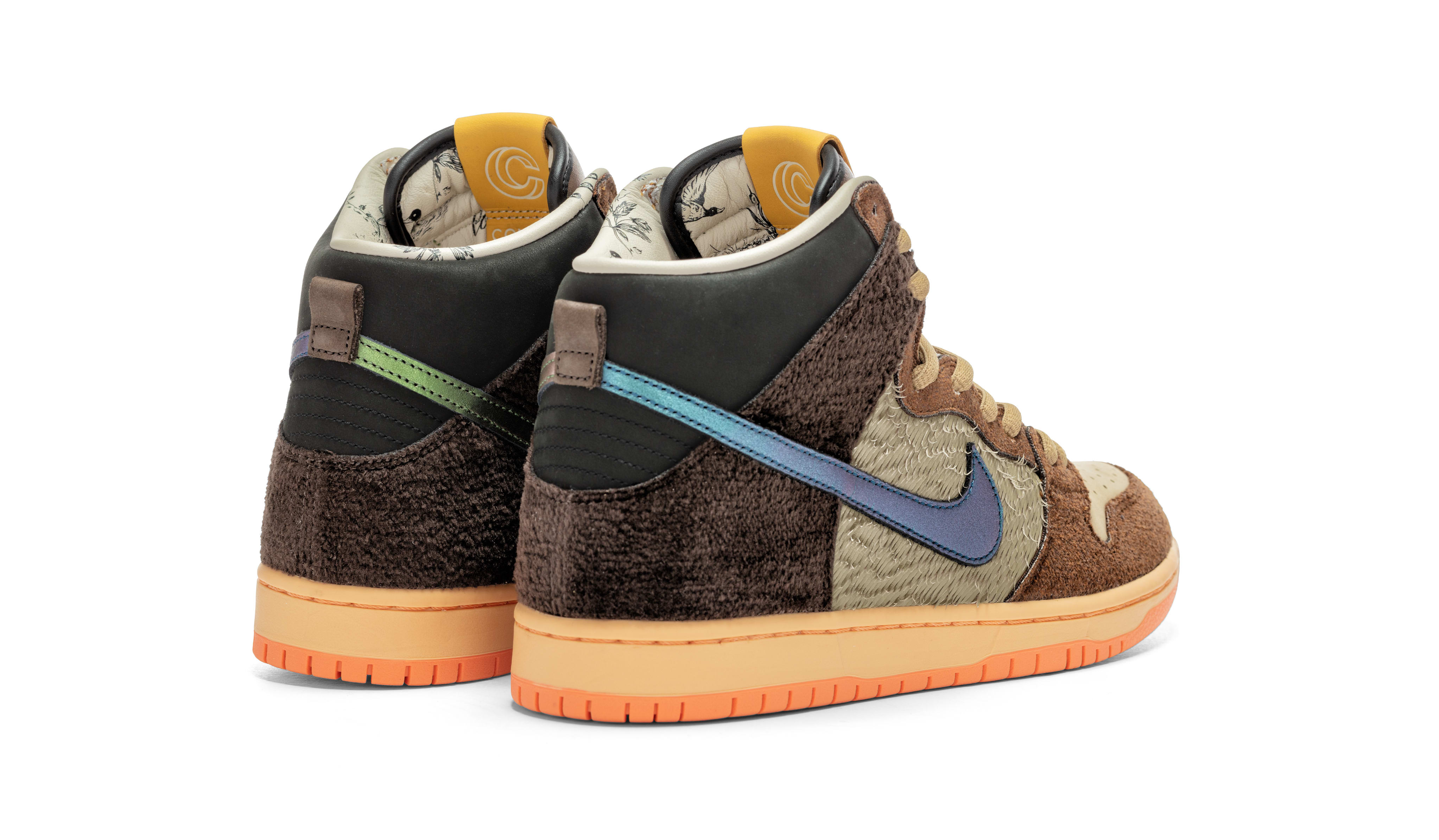 Concepts x Nike SB Dunk High 'TurDunken' DC6887-200 Heel