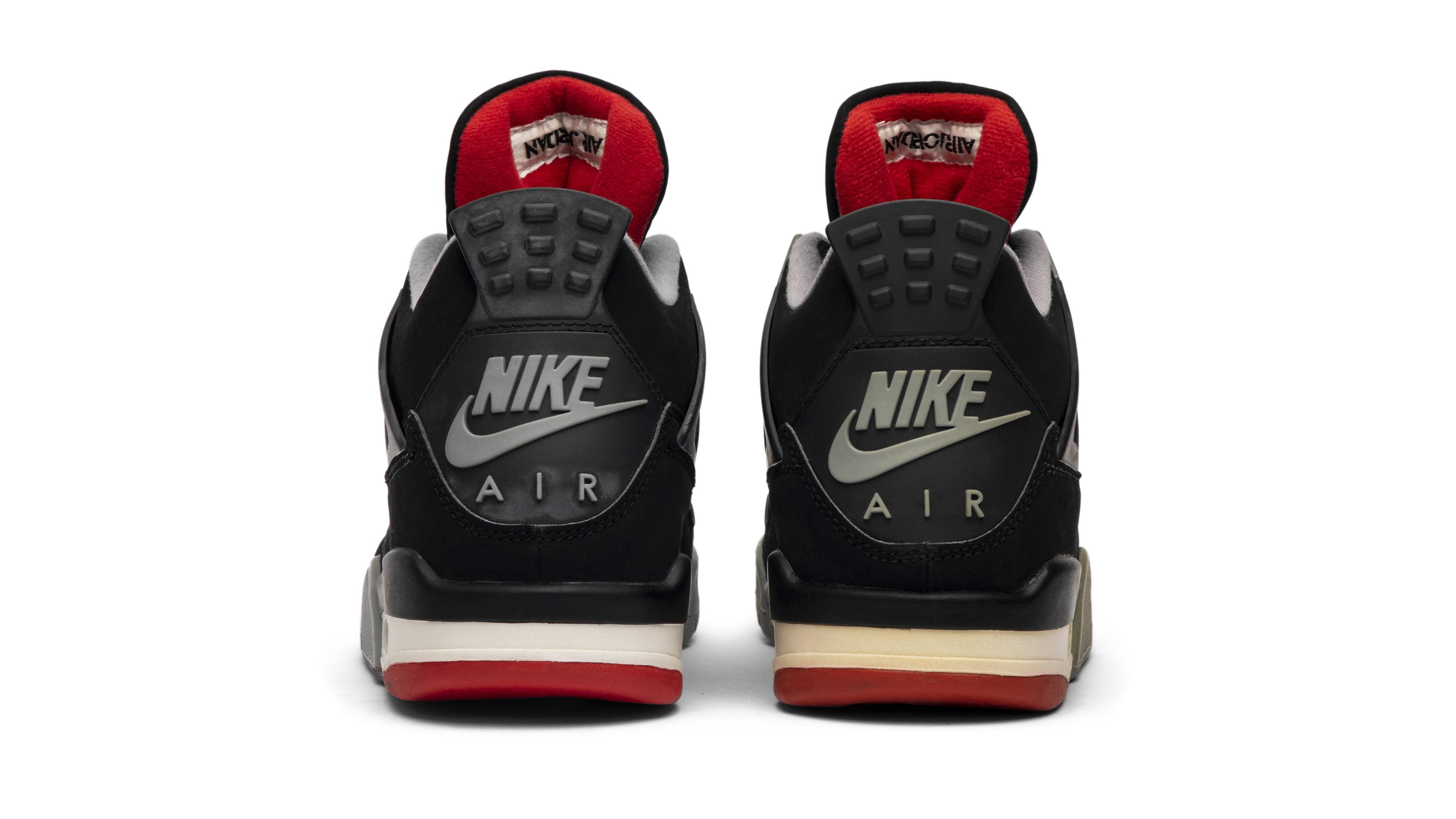 Air Jordan 4 'Bred' 1999 (Heel)