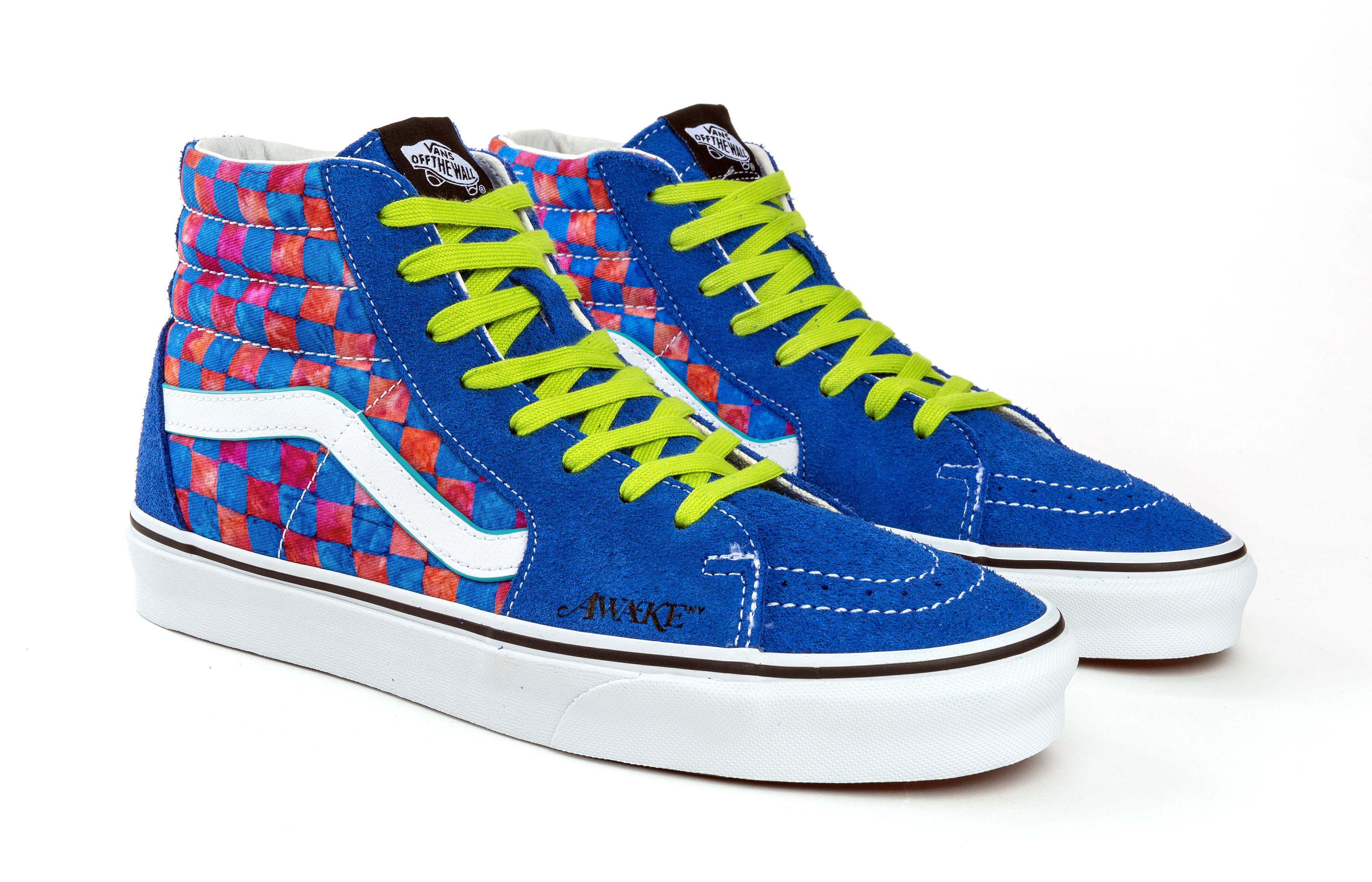 Awake NY x Vans Sk8-Hi Collab Blue
